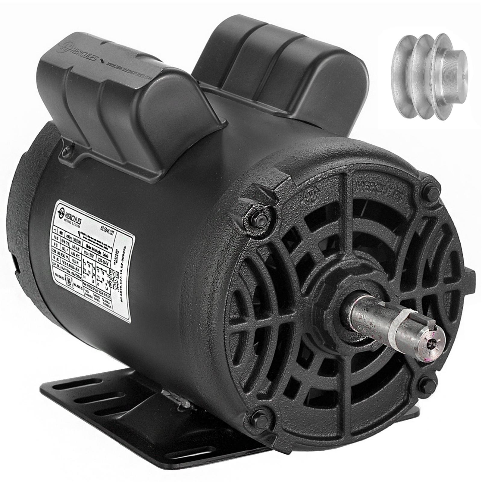 Motor Elétrico Hercules Motores 2cv 4 Polos Monofásico - Ferramentas MEP