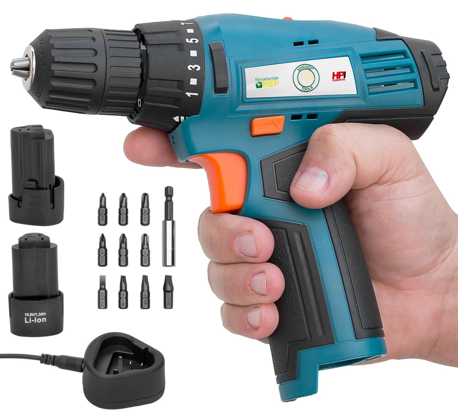 Parafusadeira Furadeira A Bateria 10,8V  Songhe Tools - Modelo 0312 - Ferramentas MEP