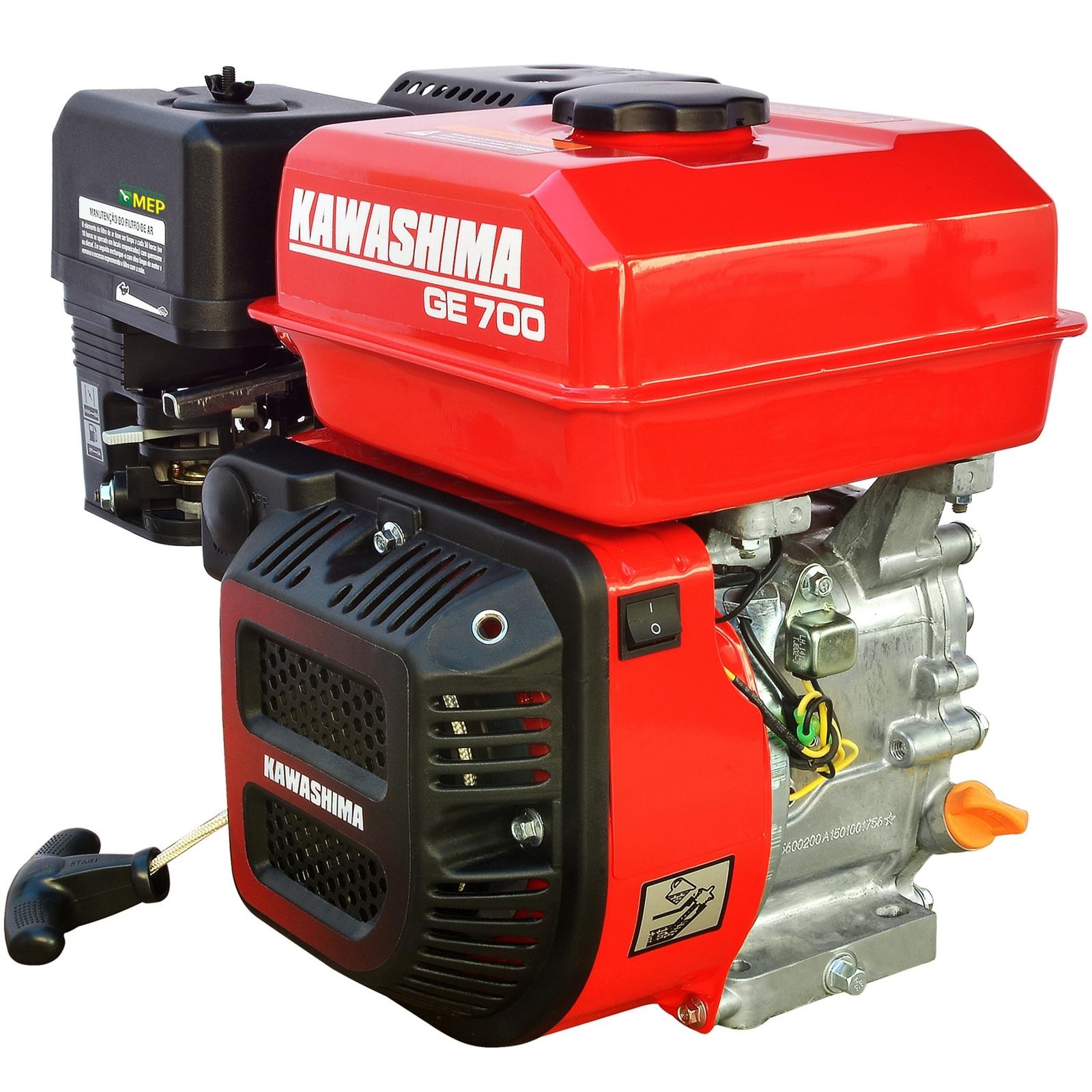 Motor Estacionário a Gasolina 7hp Partida Manual Kawashima GE-700 - Ferramentas MEP