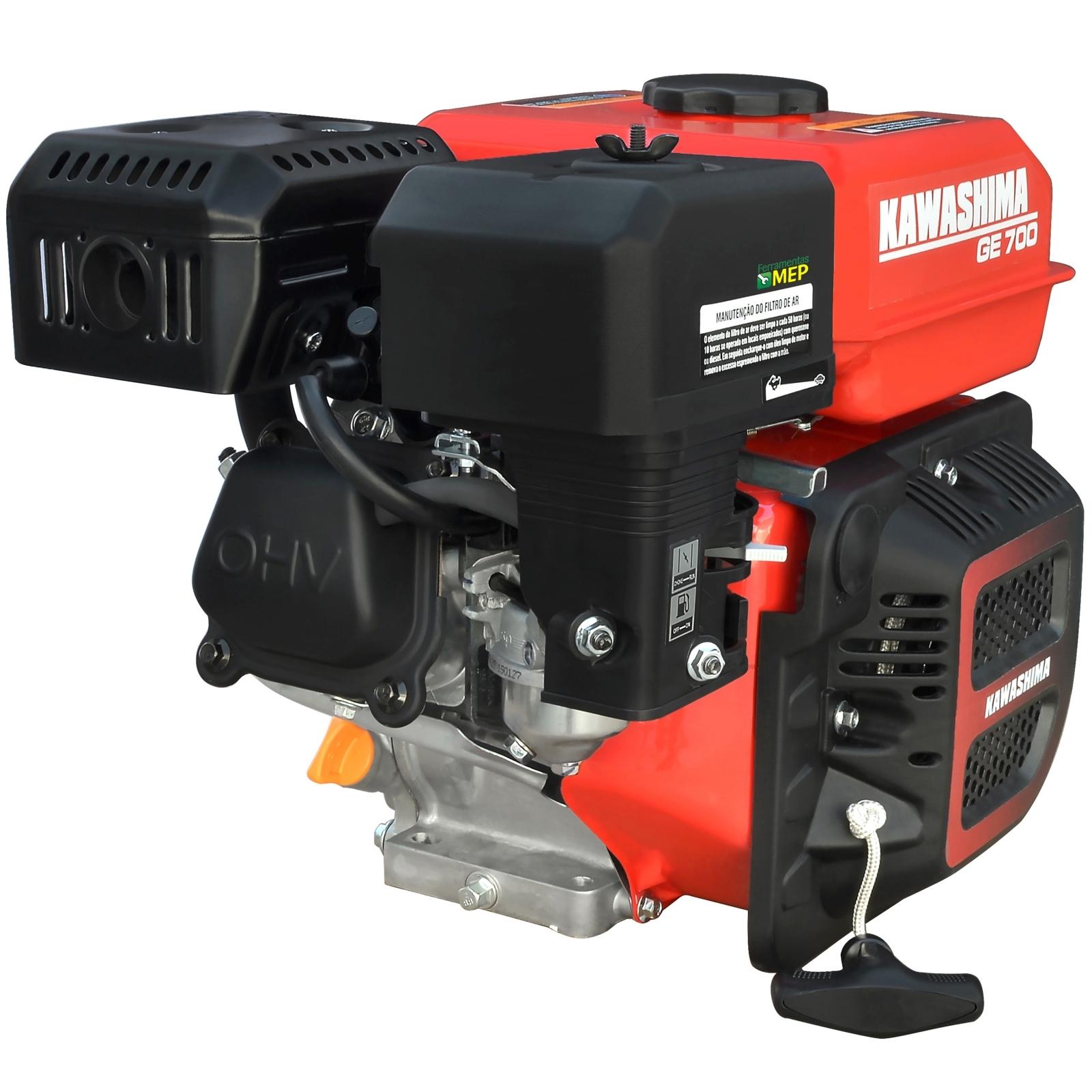 Motor Estacionário Kawashima 7hp Gasolina Partida Manual GE-700 - Ferramentas MEP