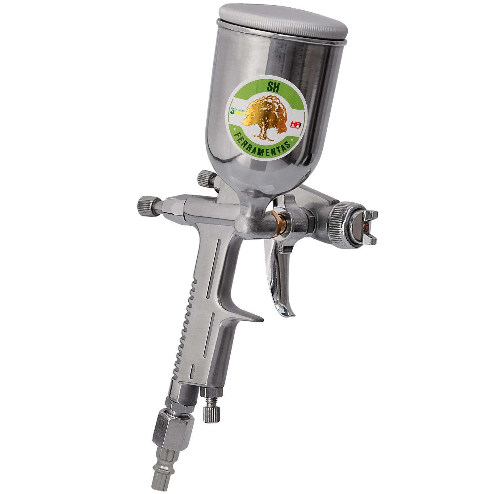 Pistola De Pintura Gravidade Tipo Aerógrafo - K3 - SH 0171 - Ferramentas MEP