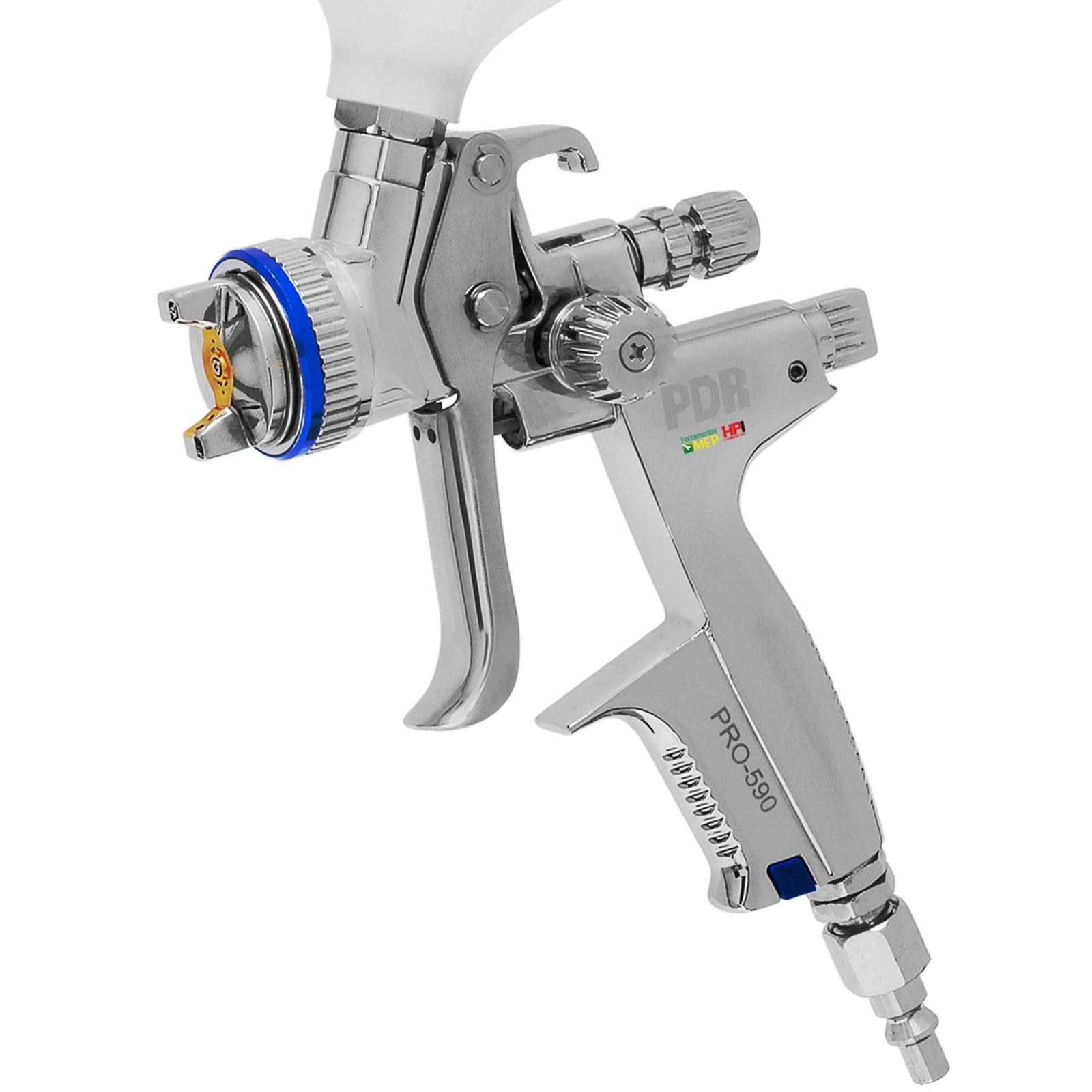 Pistola De Pintura Profissional Lvmp  Ldr PRO-590 - Ferramentas MEP