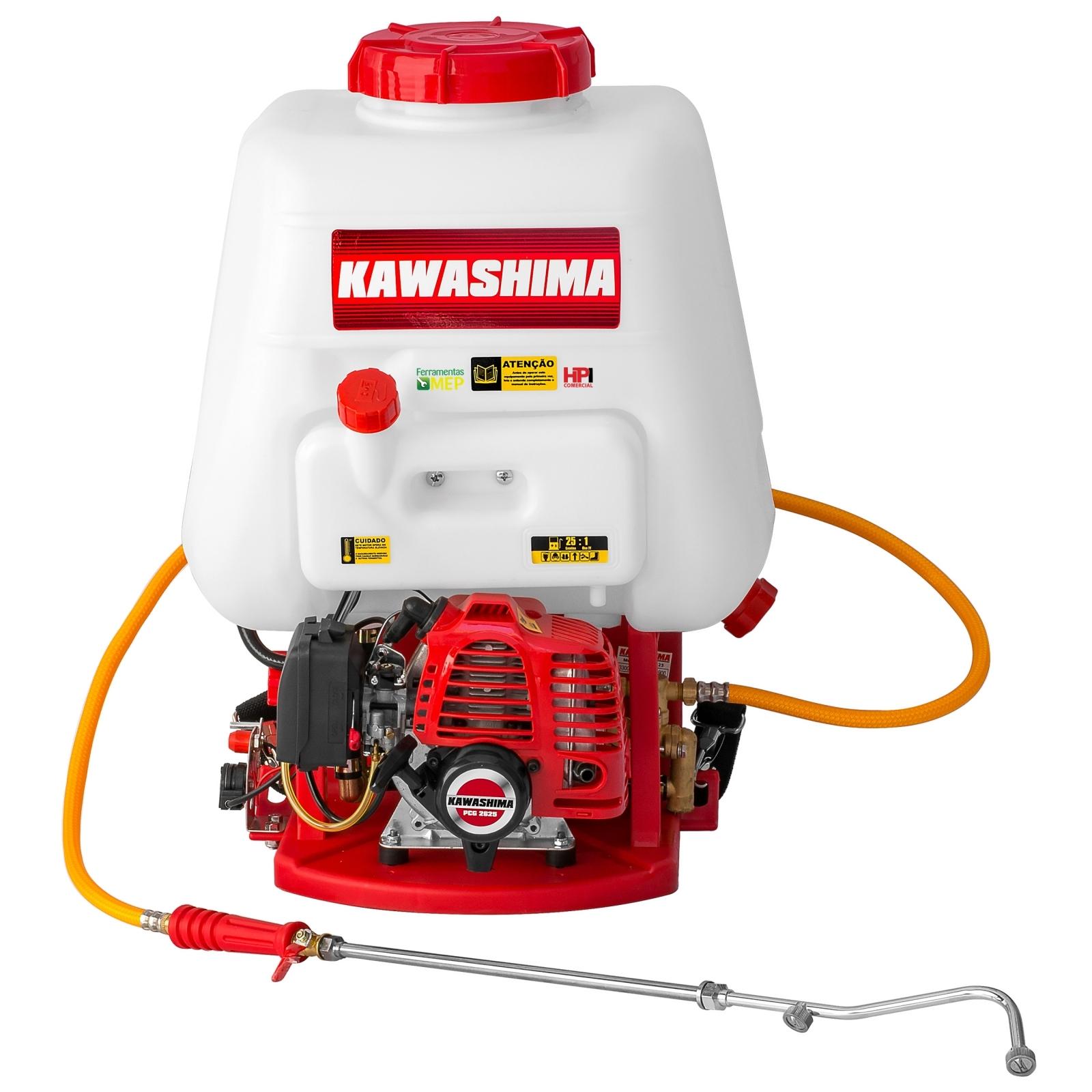 Pulverizador Costal A Gasolina Kawashima - PCG 2625 - Ferramentas MEP