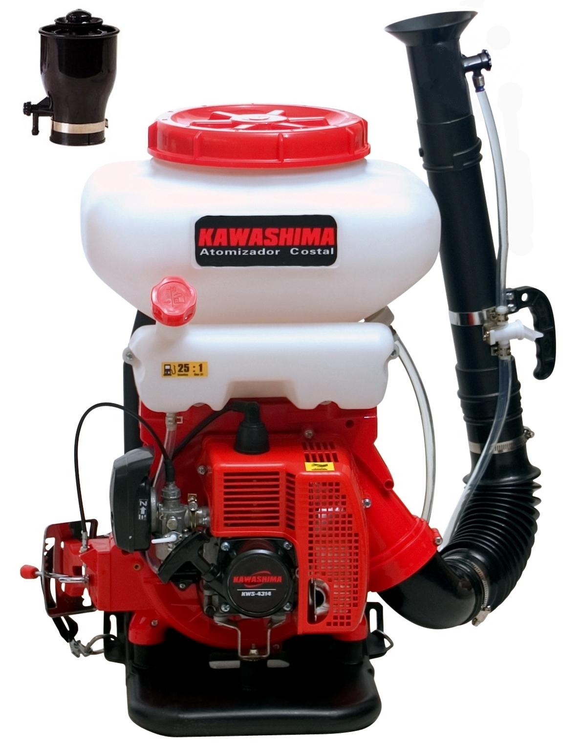 Atomizador Costal A Gasolina Kawashima Modelo At4314u - Ferramentas MEP