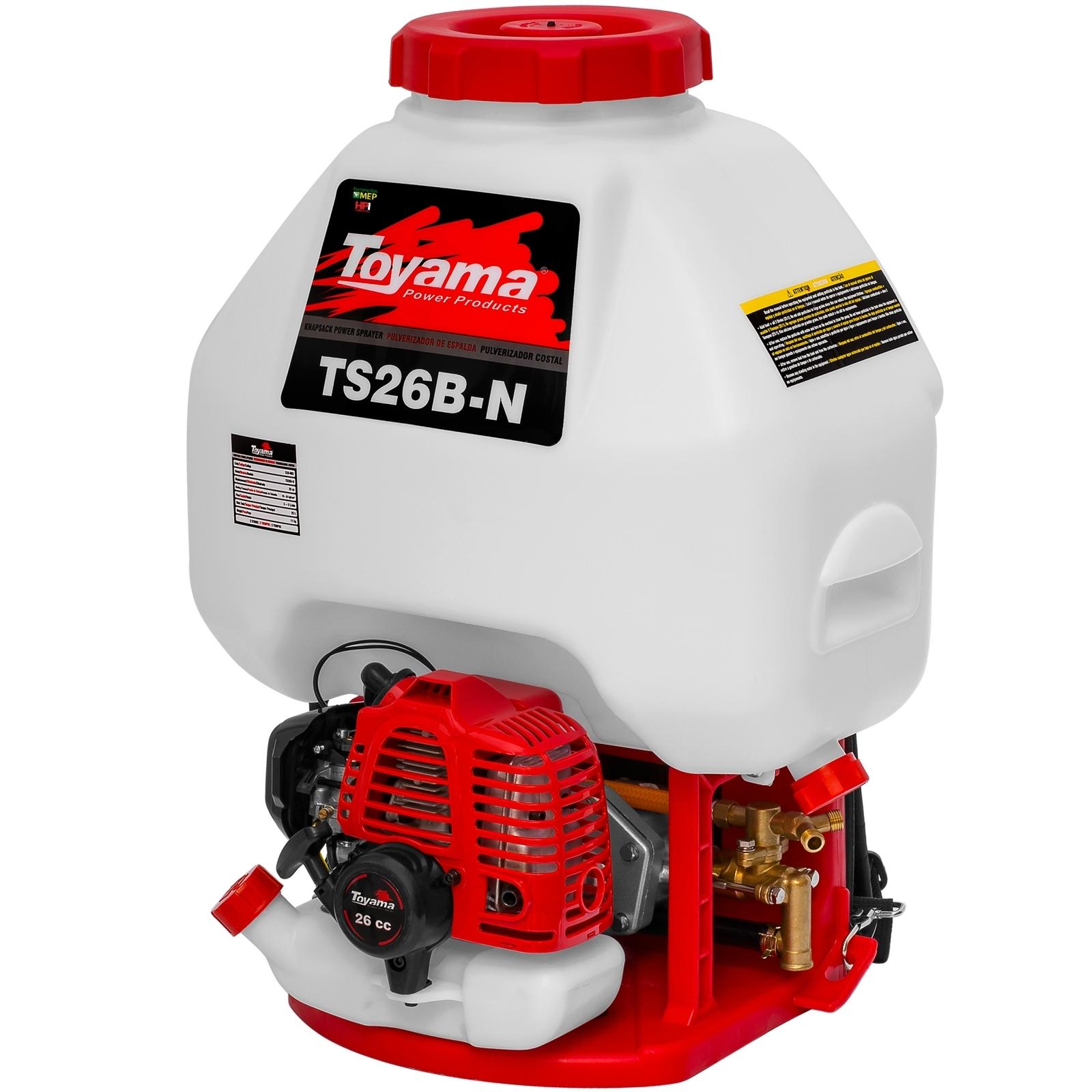 Pulverizador Costal Motorizado Toyama - TS26B-N - Ferramentas MEP
