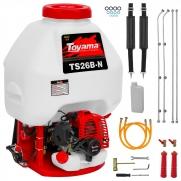Pulverizador Costal Motor A Gasolina Toyama TS26B-N Pc2
