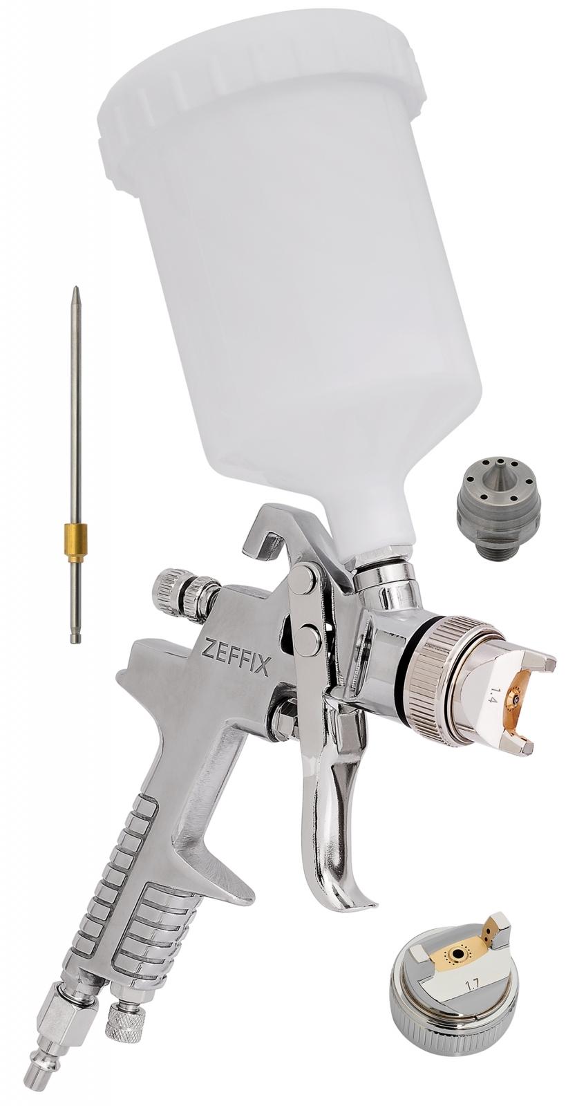 Pistola De Pintura Automotiva Hvlp Bico 1,4 + 1,7mm 600ml Lx100b - Ferramentas MEP