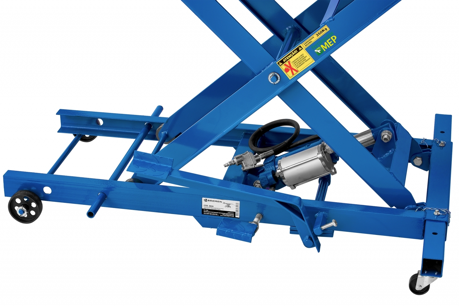 Elevador Rampa para Motocicleta Bremen 8820 capacidade 350kg - Ferramentas MEP