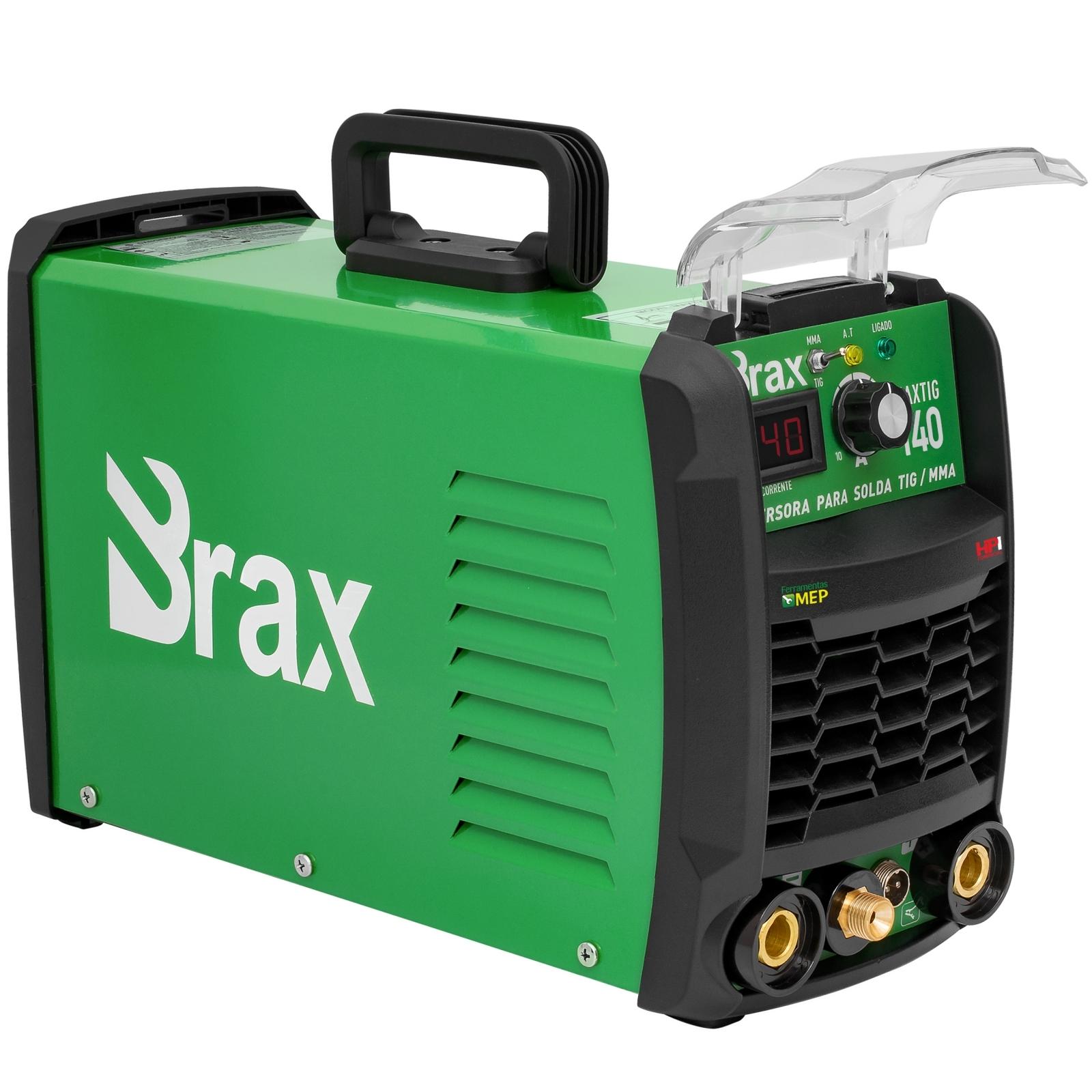 Máquina de Solda Tig 140 A Bivolt  Brax Maxitig 140 Completa - Ferramentas MEP