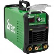 Máquina De Solda Tig Eletrodo 200a Brax Soldas MaxiTig 200 Bivolt Nova Geração