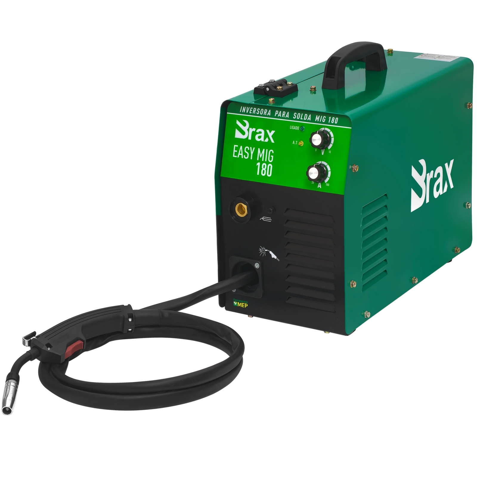 Máquina De Solda Mig Brax 180amp Easy Mig - Ferramentas MEP