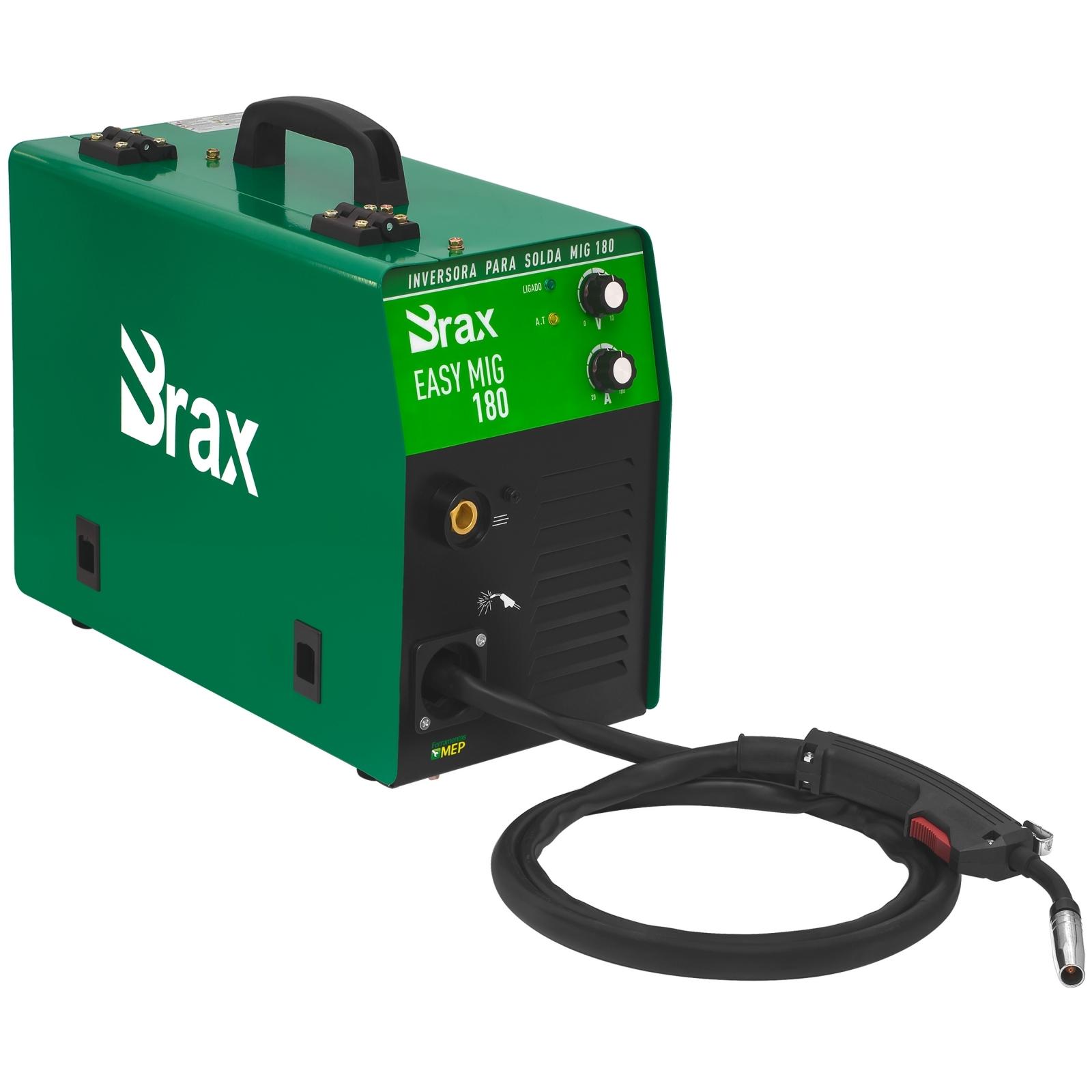 Máquina De Solda Mig Mag  Brax Soldas Easy Mig 180 - Ferramentas MEP