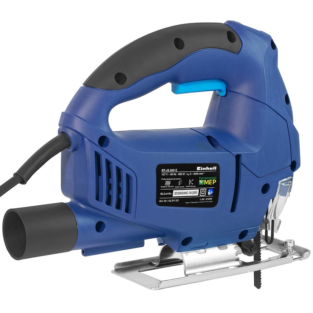 Serra Tico-Tico Manual  Einhell –BT-JS800E - Ferramentas MEP