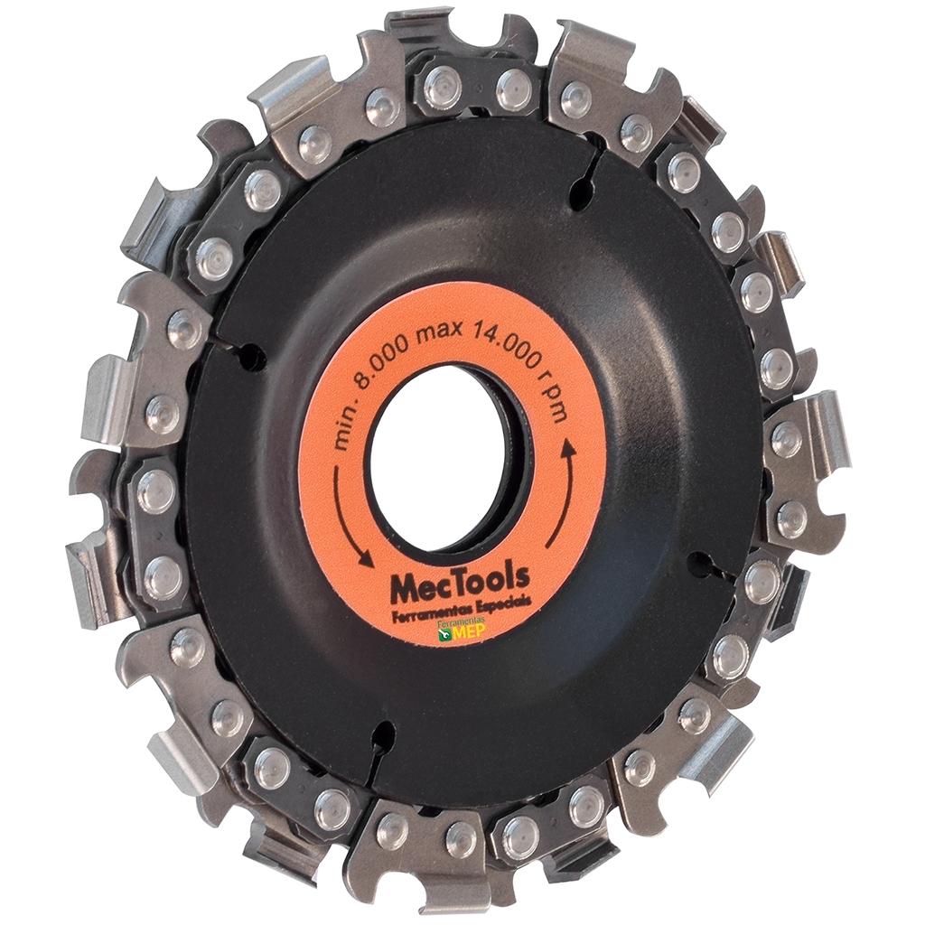 Disco Para Cortar e Desbastar Madeira Corrente de motosserra Mec Tools Dc1 - Ferramentas MEP