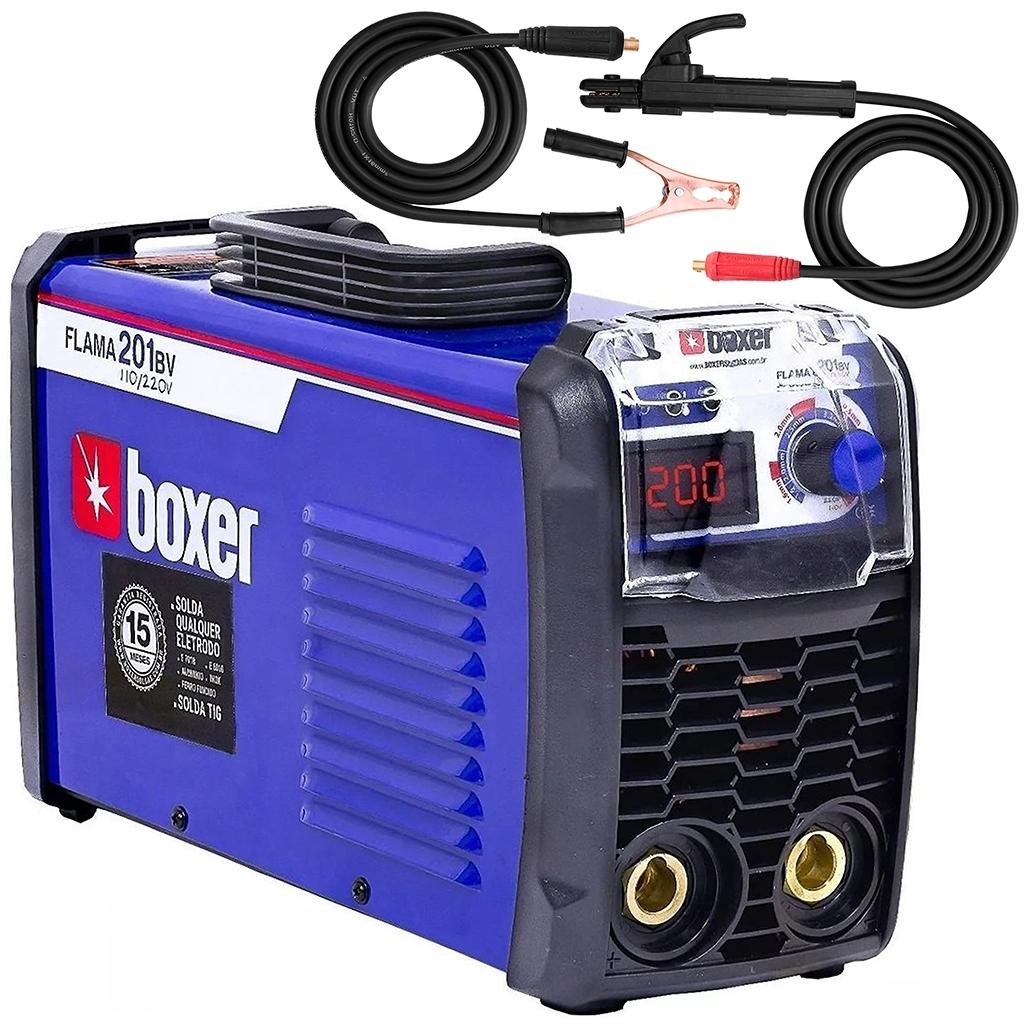 Máquina De Solda Eletrodo Boxer Flama 201 Bivolt Te3 - Ferramentas MEP