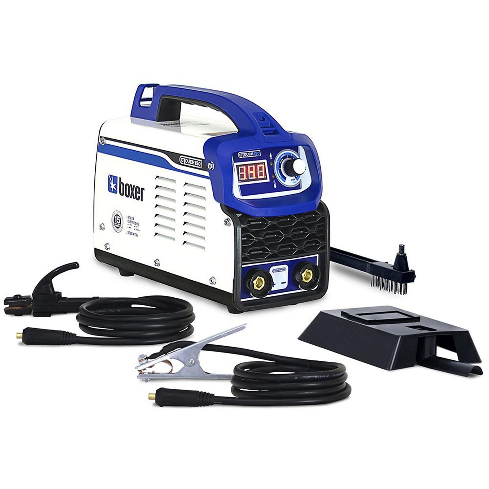 Máquina De Solda Eletrodo Boxer Touch 150 Bivolt - Ferramentas MEP