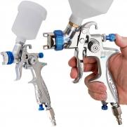 Pistola De Pintura Kit Hvlp Pdr Pro-530 + Pistola De Pintura Mini Hvlp  Ldr Pro-535 Kp2