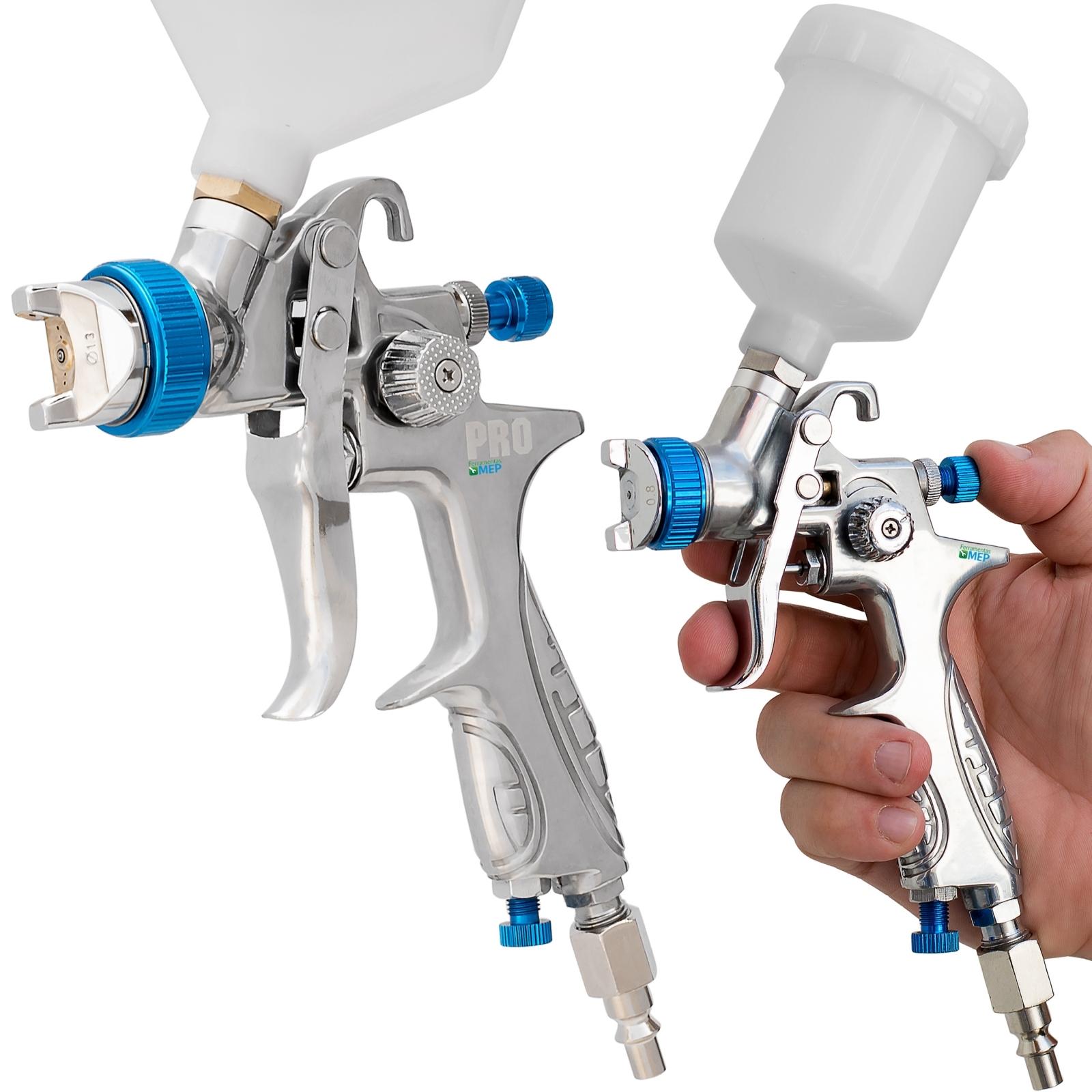 Kit Pistola De Pintura Hvlp Profissional Ldr Pro-530 + Pistola De Pintura Mini Hvlp  Ldr Pro-535 Kp2 - Ferramentas MEP