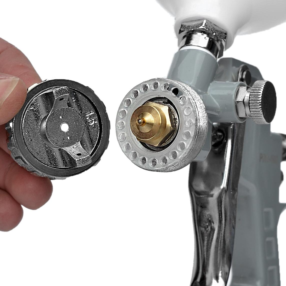 Kit Pistola De Pintura Hvlp Ldr Pro 530 + Pistola Gravidade Uso Geral Ldr Pro 500 Kp5 - Ferramentas MEP