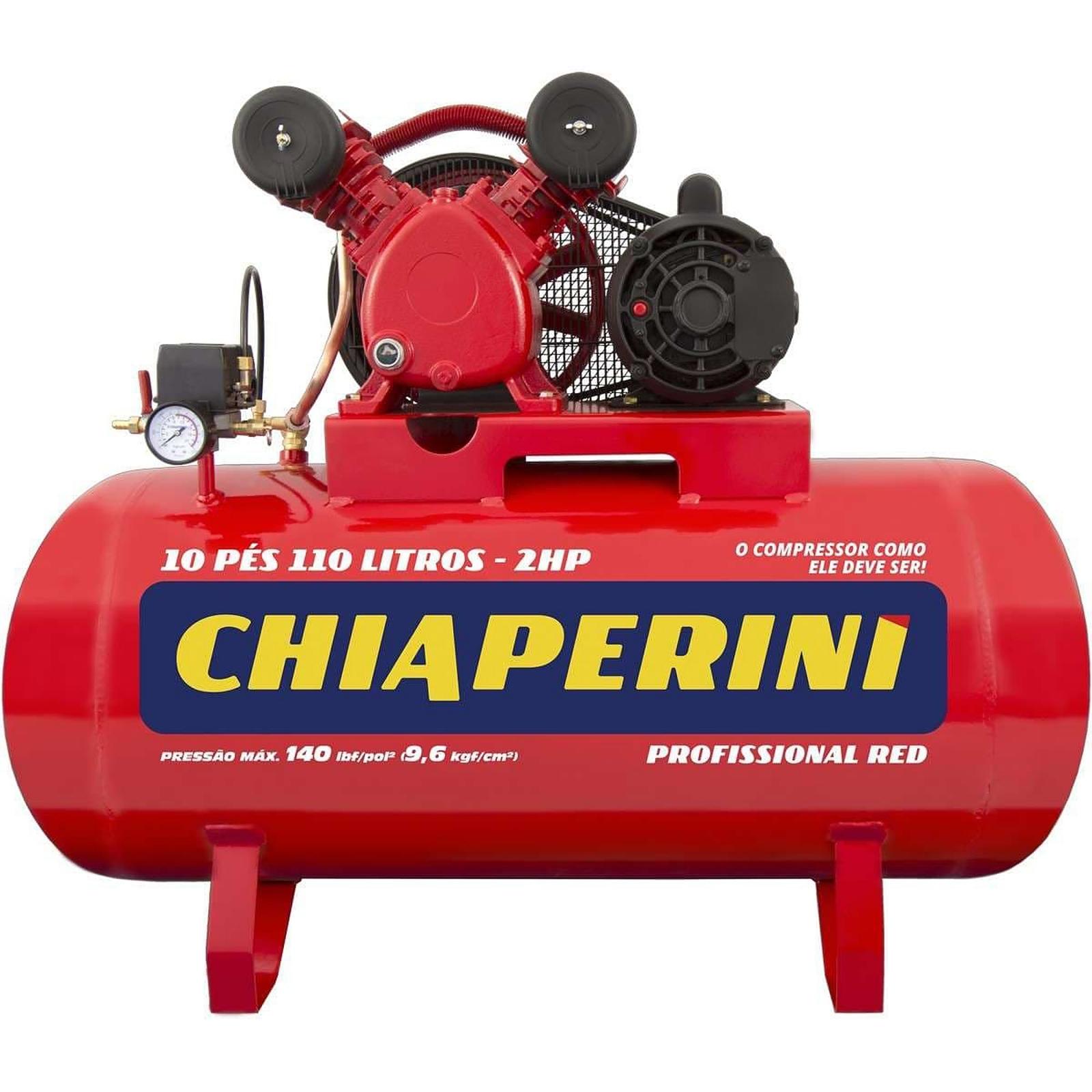 Compressor De Média Pressão  Chiaperine Red 10 pés monofásico - Ferramentas MEP