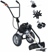 Motocultivador Multifuncional À Gasolina Zmax ZT-630 Completa - Er6