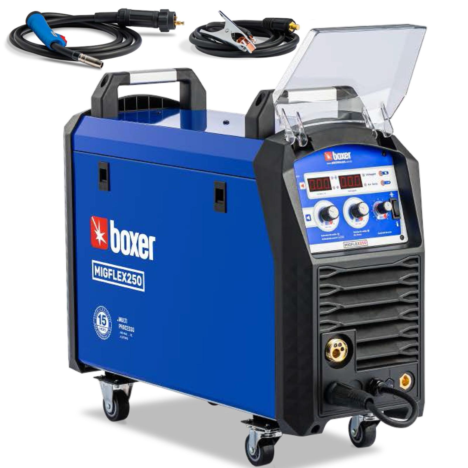 Máquina De Solda Mig Tig Eletrodo Boxer MigFlex250 220a 220v Te5 - Ferramentas MEP