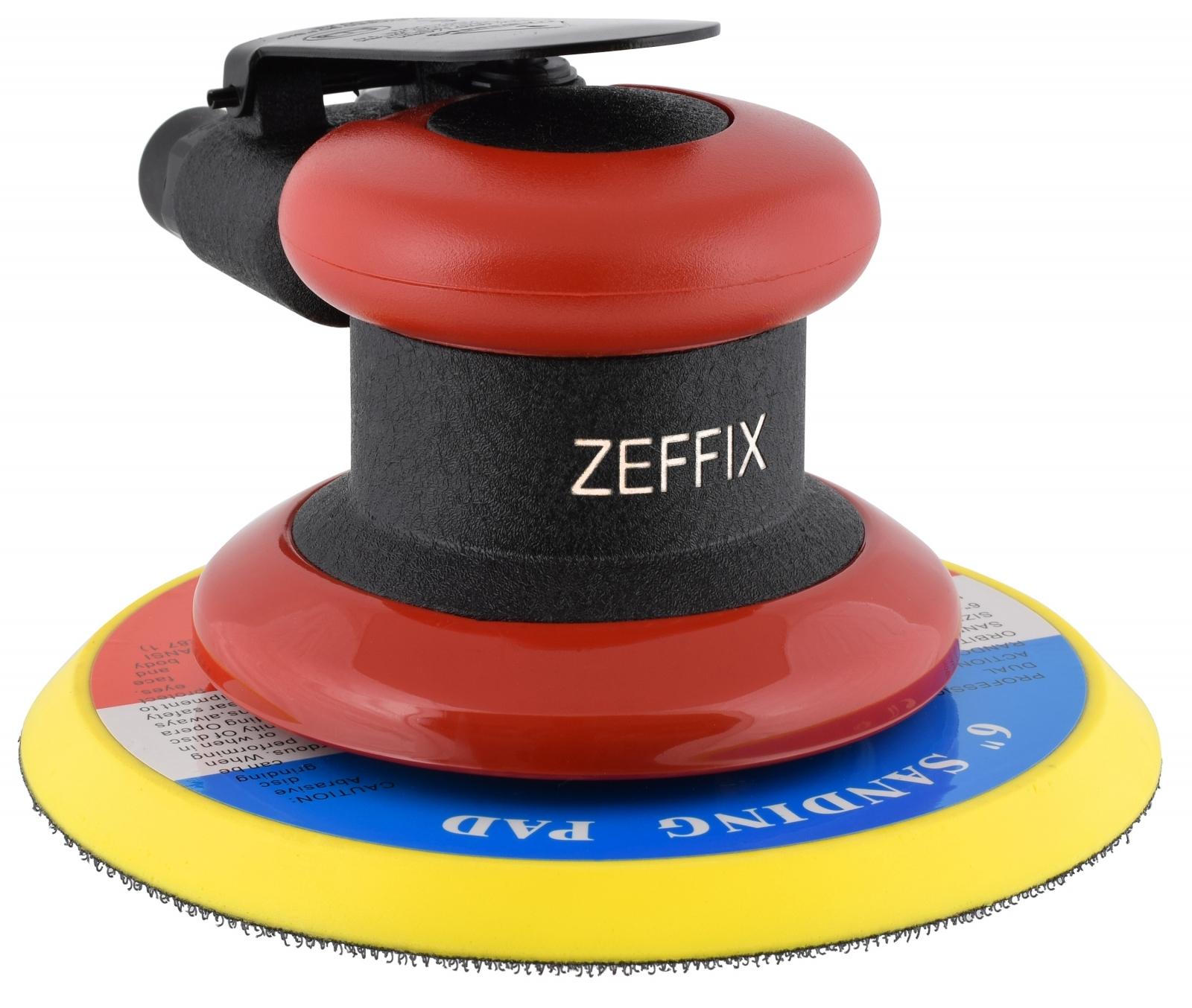 Lixadeira Pneumática Roto Orbital Hookit Zeffix Sem Aspiração Lx6 - Ferramentas MEP