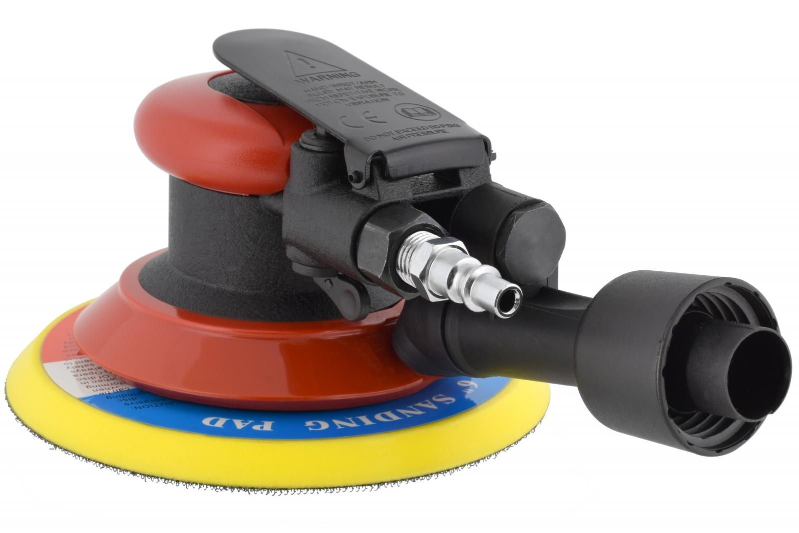 Lixadeira Pneumática Roto Orbital Hookit Zeffix Lx7 Aspirada - Ferramentas MEP