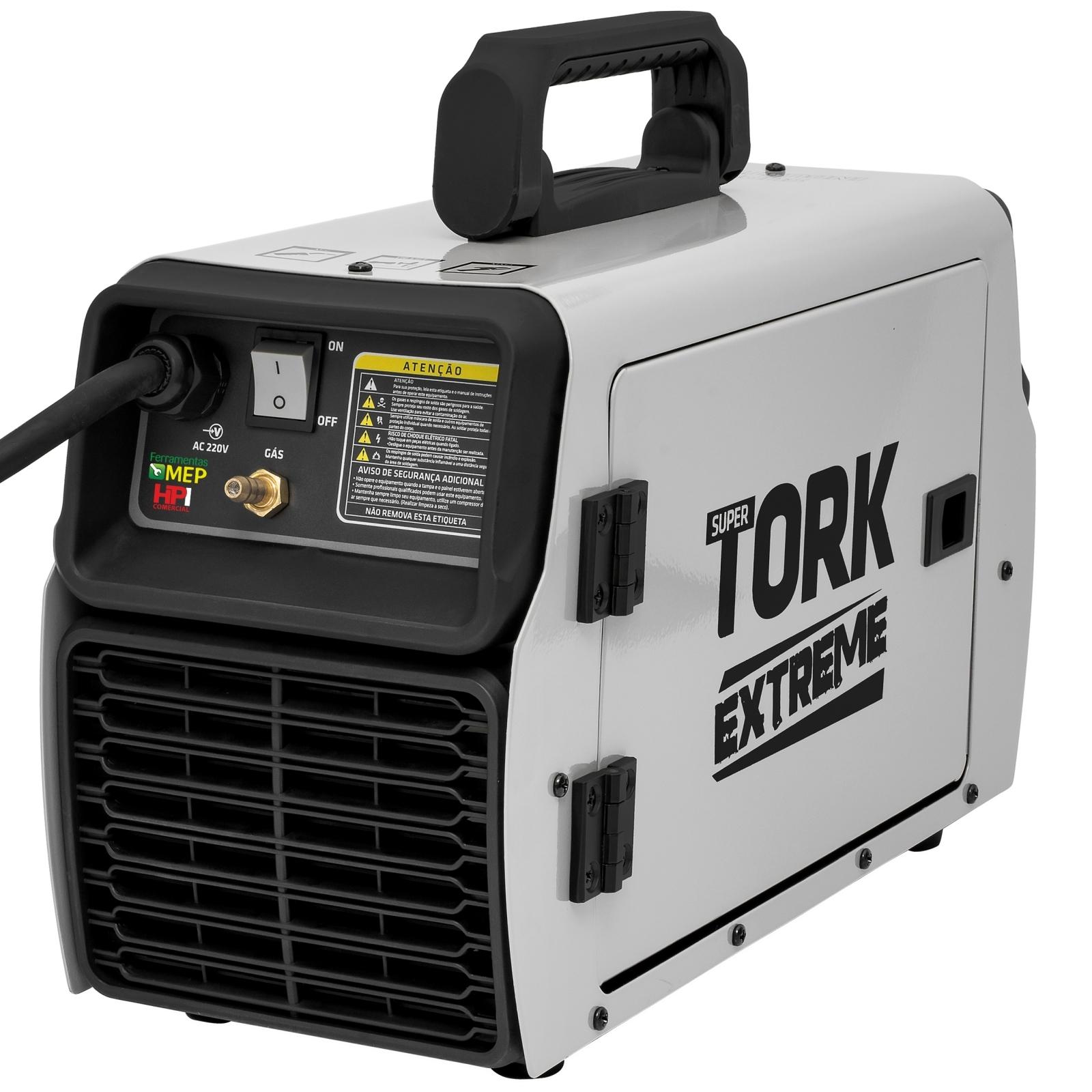 Máquina De Solda Mig Tig E Eletrodo Super Tork Exteme IMETS-11200 -220V - Ferramentas MEP