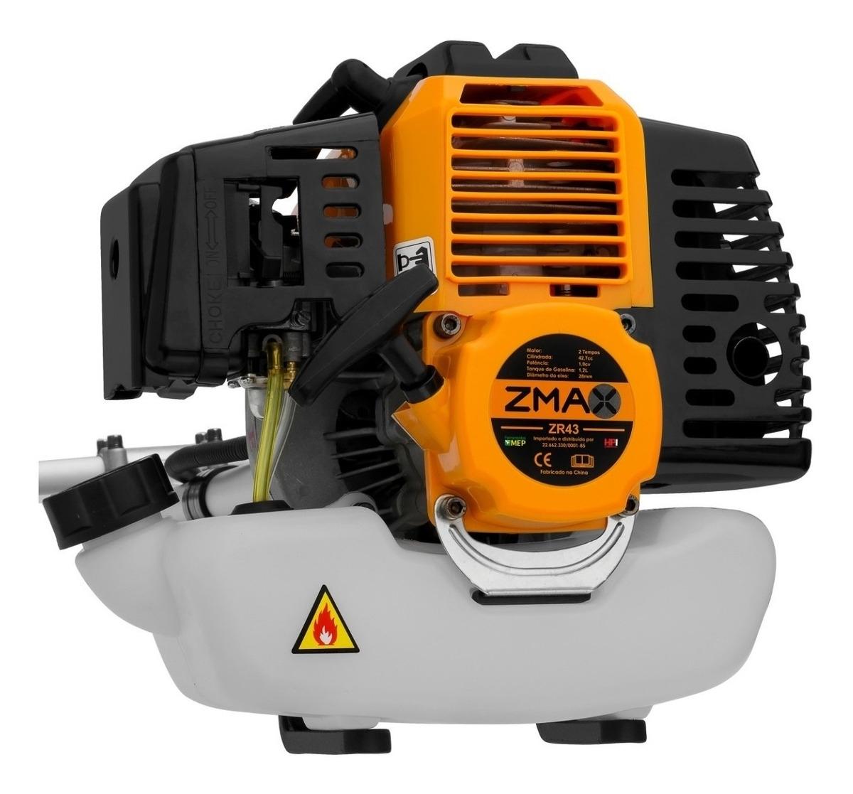 Roçadeira A Gasolina 42,7cc ZMAX ZR43 - Ferramentas MEP