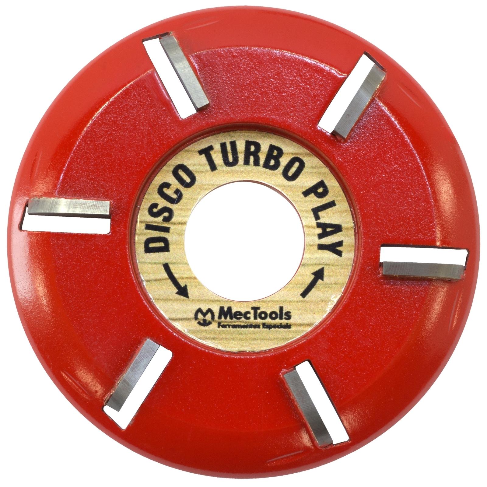 Disco Turbo Plaine Com 6 Wídeas Para Madeira Mec Tools Dw1 - Ferramentas MEP