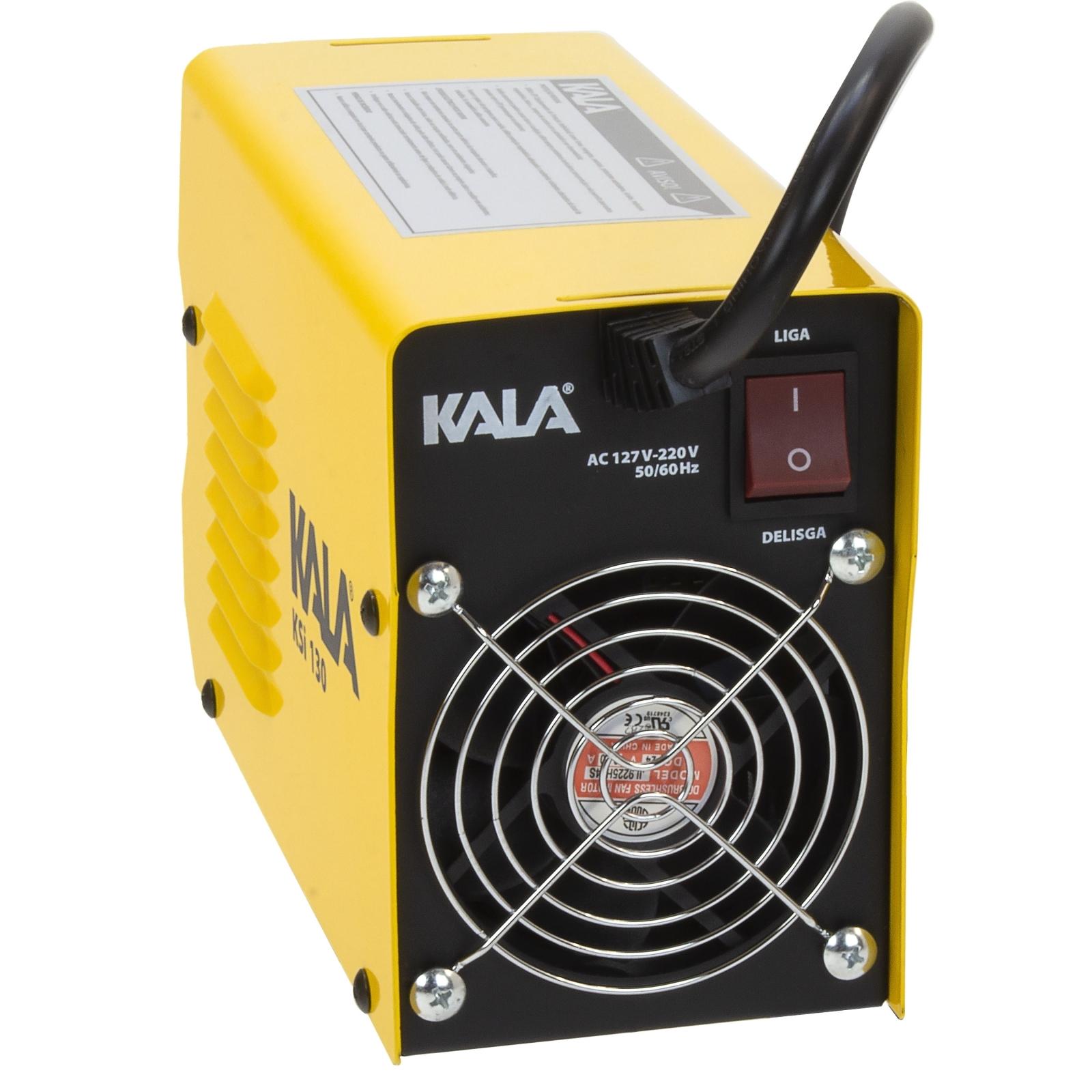 Inversora De Solda Eletrodo e Tig Kala KSi 130 Bivolt Com Máscara - Kk2 - Ferramentas MEP