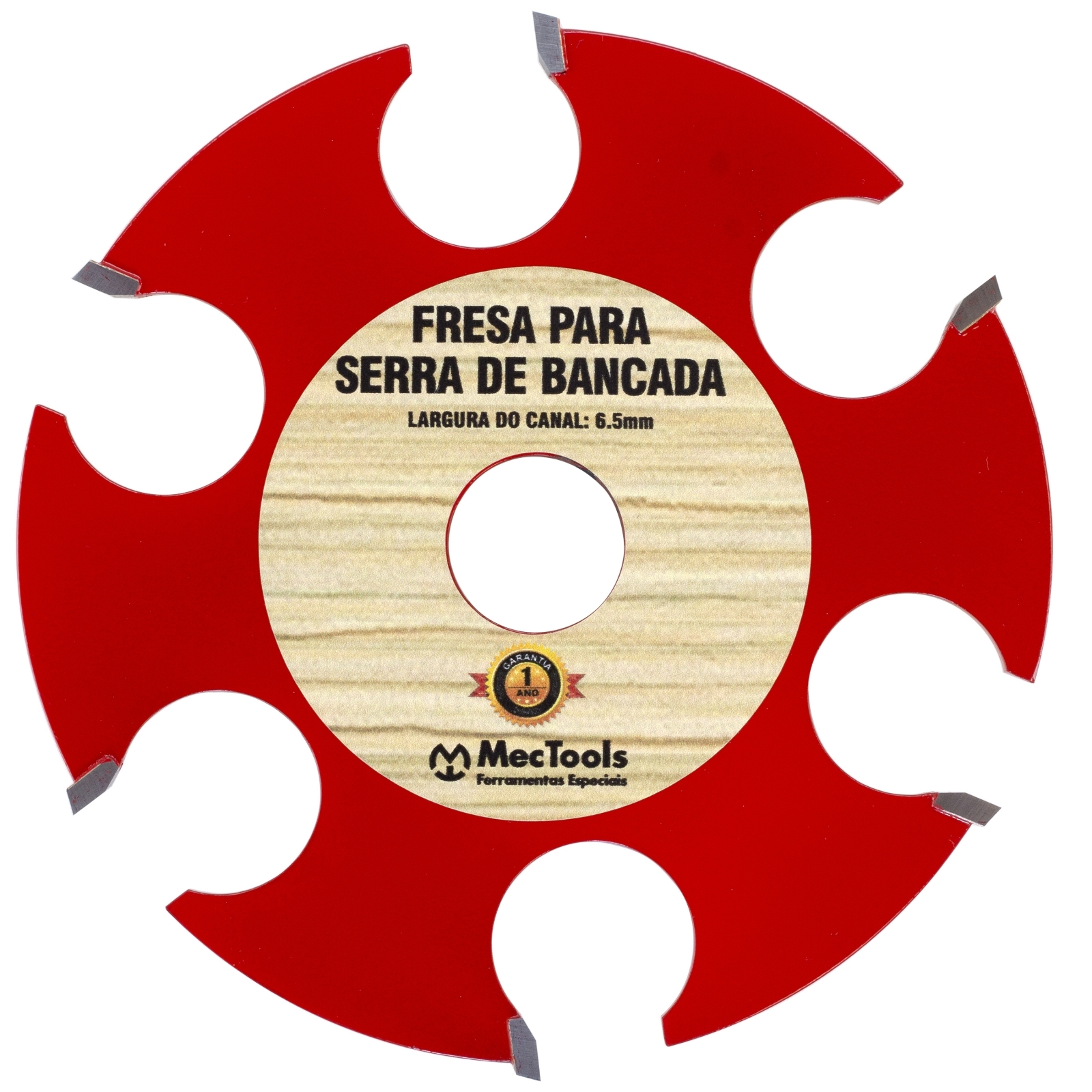 Disco Com 6 Wideas Para Madeira Para Serra De Bancada Dw2 - Ferramentas MEP