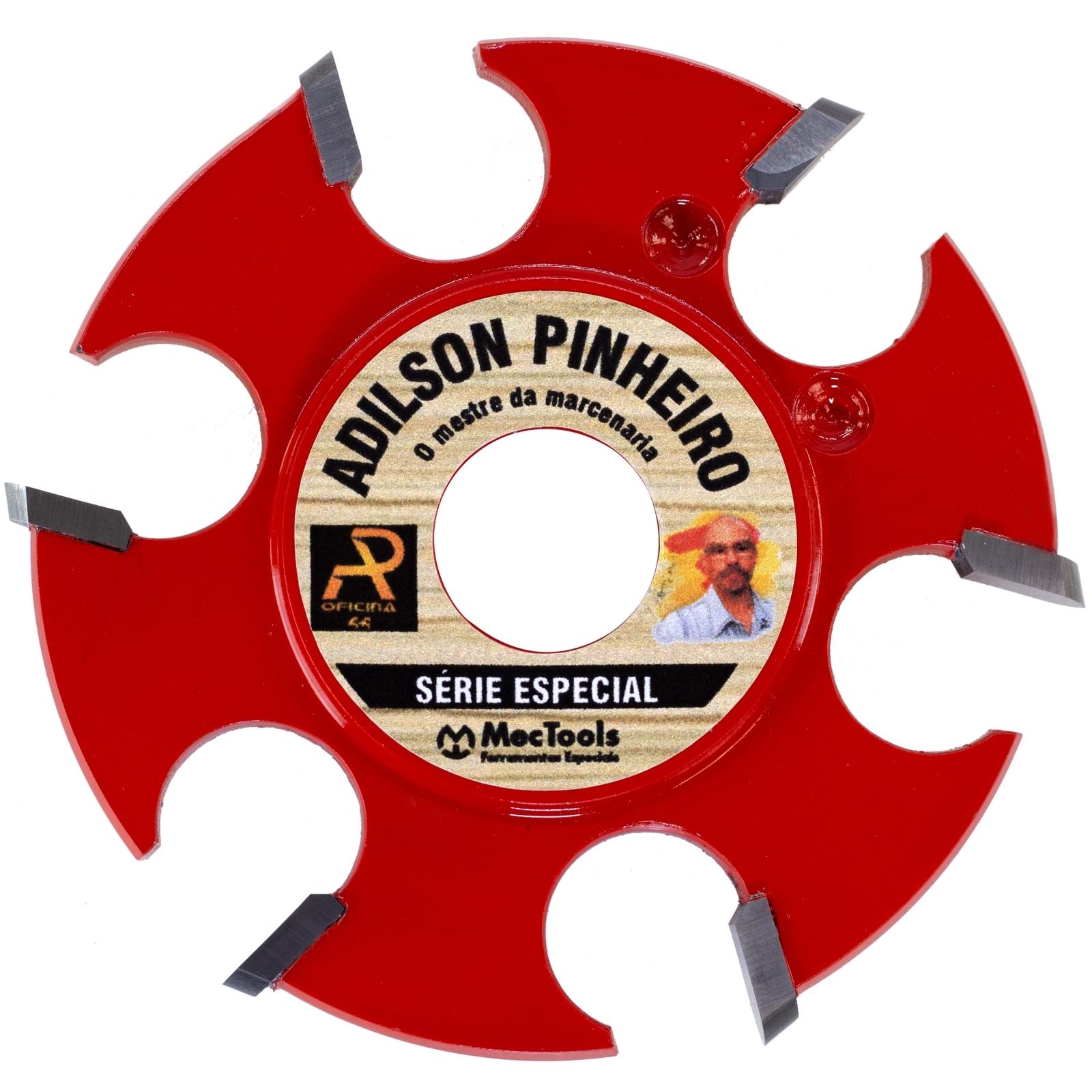 Disco Fresa Adilson Pinheiro 6 Wideas Madeira Mec Tools Dw3 - Ferramentas MEP