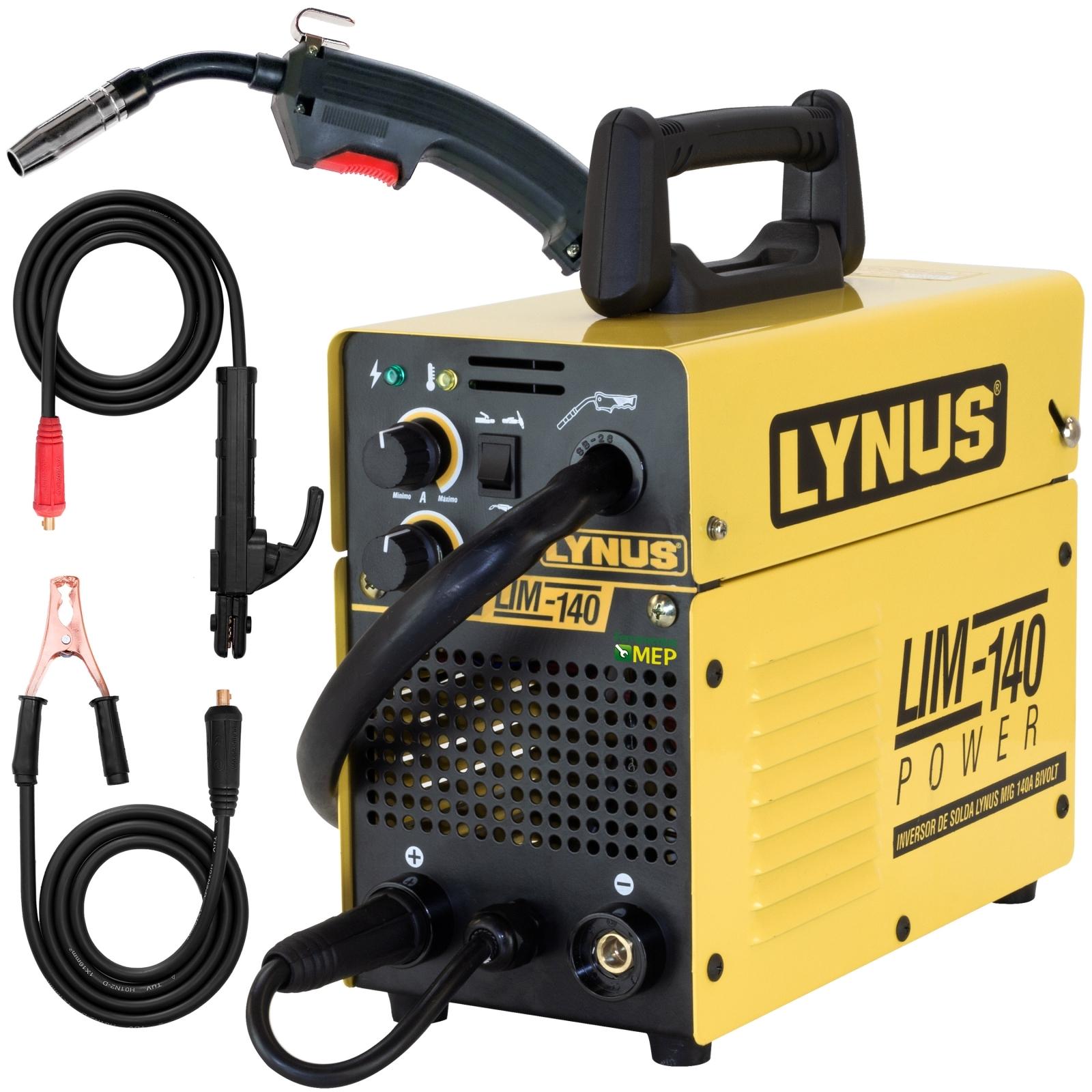 Inversora De Solda Mig 140a Bivolt Tig Eletrodo Portatil Ly9 - Ferramentas MEP