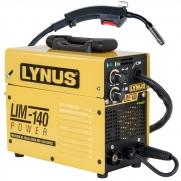 Máquina De Solda Mig Lynus 140amp Bivolt Tig Eletrodo Portatil Ly9