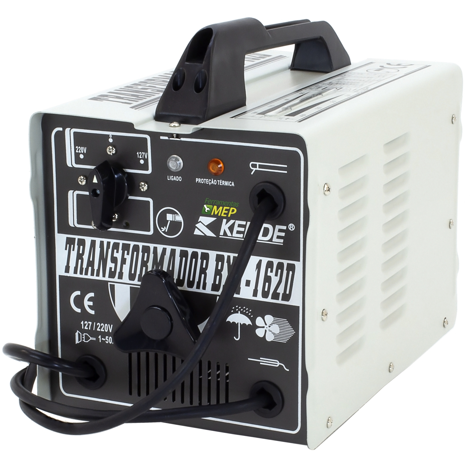 Máquina de Solda Transformador Kende 160 Amperes Sk3  - Ferramentas MEP