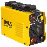 Máquina de Solda Inversora Kala KSI 130amp Bivolt Sk1