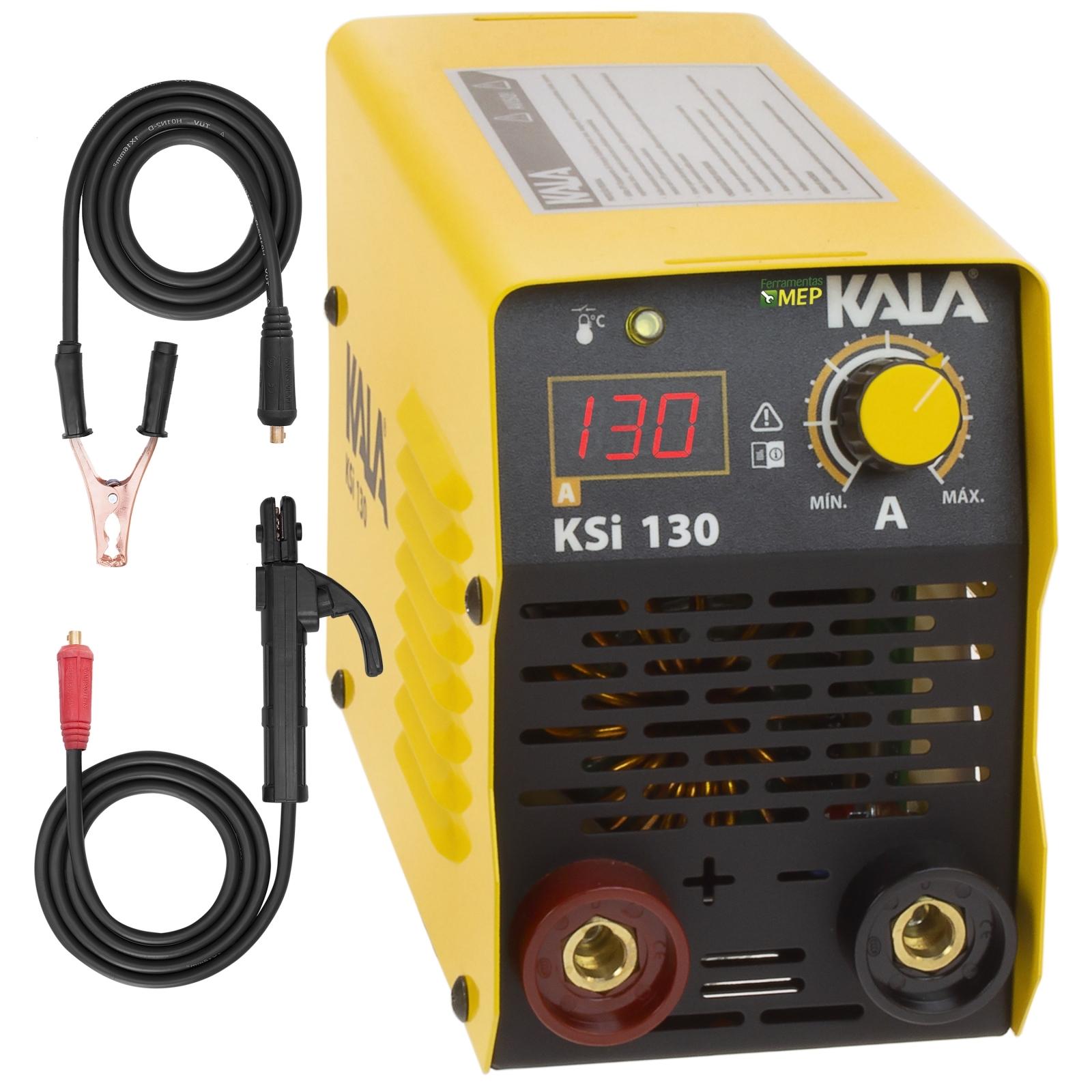 Máquina de Solda Inversora Kala KSI 130amp Bivolt Sk1 - Ferramentas MEP