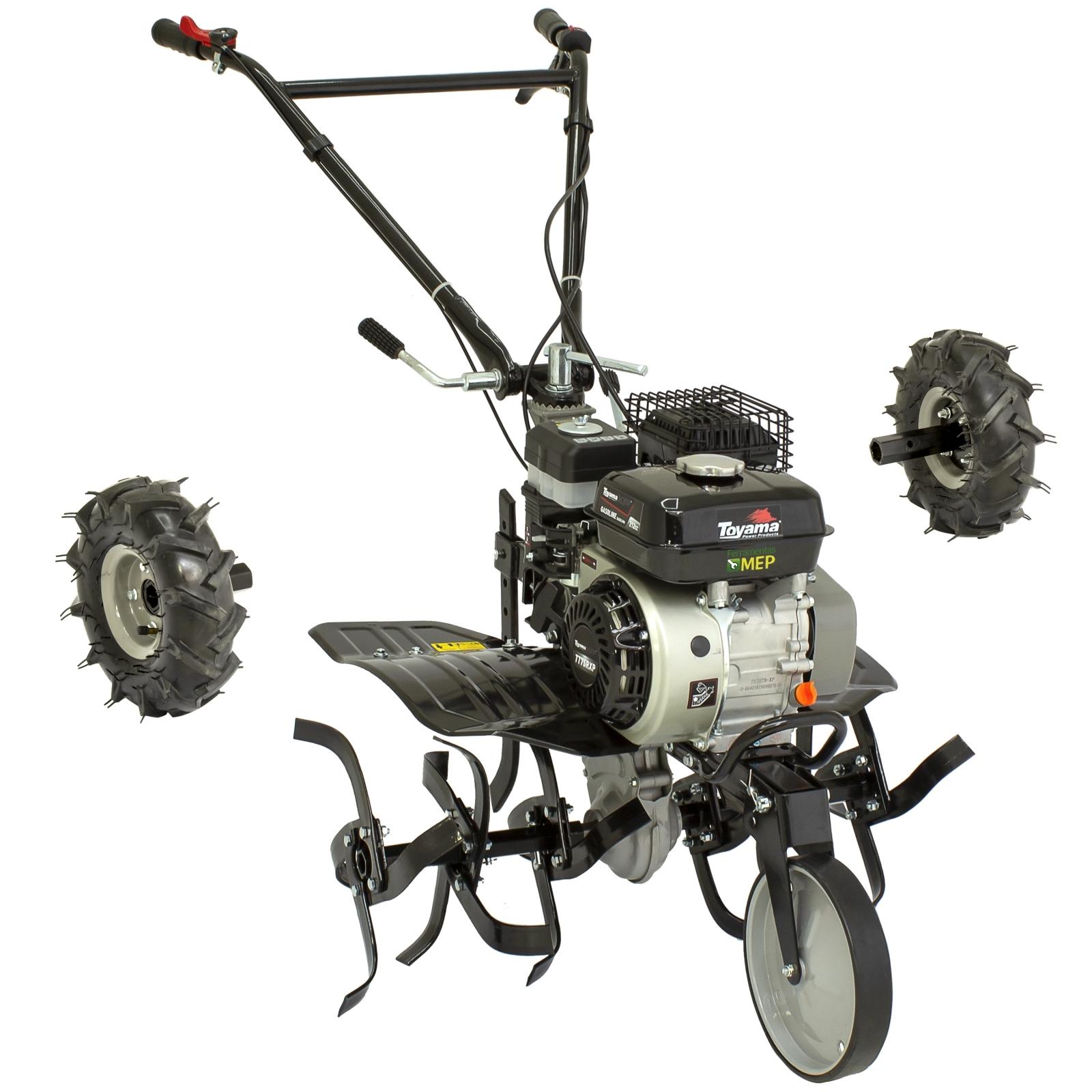 Motocultivador a Gasolina com Enxada Rotativa 7hp Toyama  Tt75r-xp Mc2 - Ferramentas MEP
