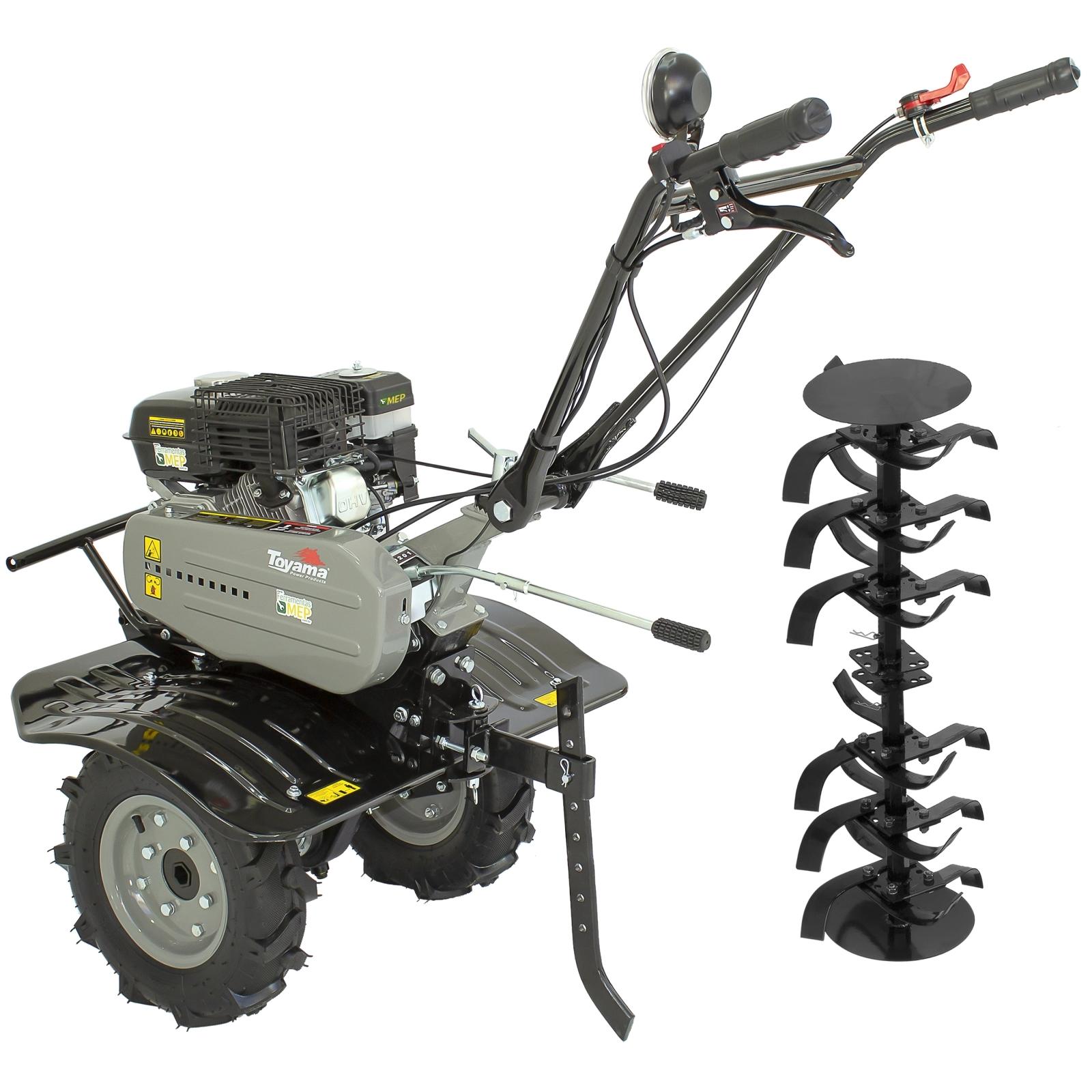 Motocultivador a Gasolina com Enxada Rotativa 7hp Toyama Tt90r-xp Mc1 - Ferramentas MEP