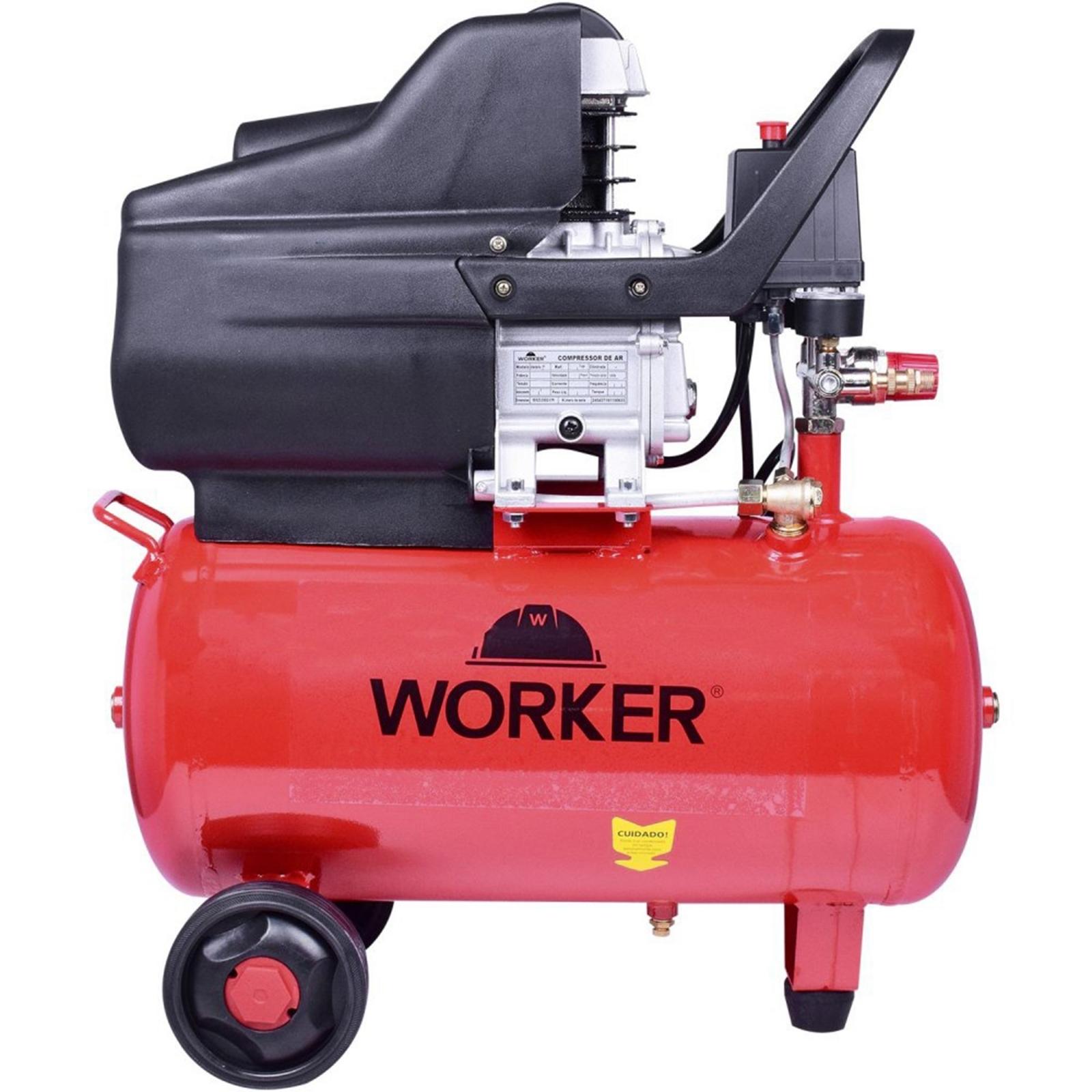 Compressor Portátil 24 Litros Worker 110v Cw1 - Ferramentas MEP
