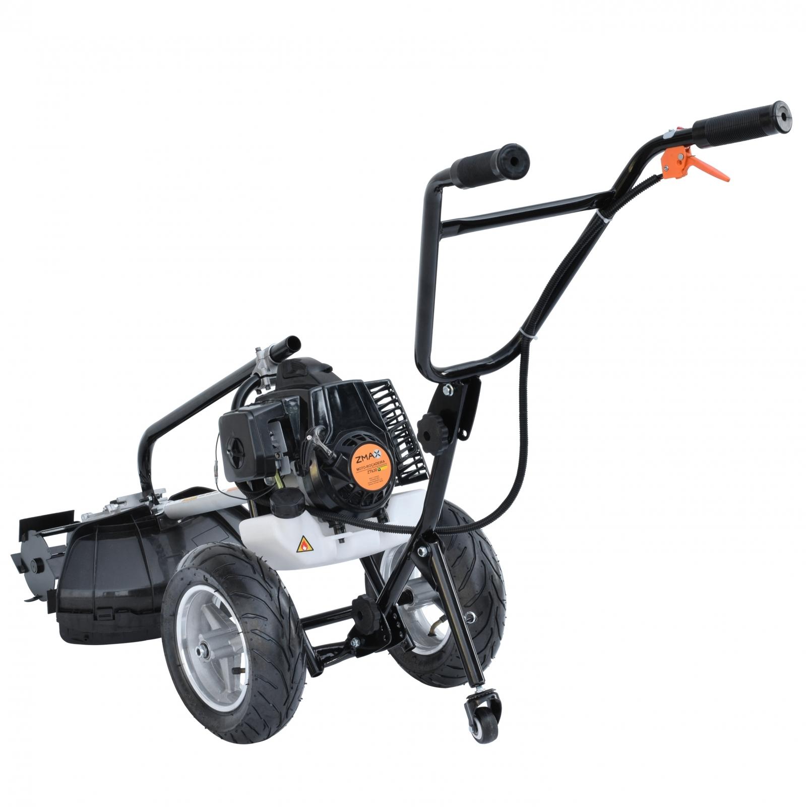 Motocultivador Multifuncional À Gasolina Zmax ZT-630 Lamina Reta - Er8 - Ferramentas MEP