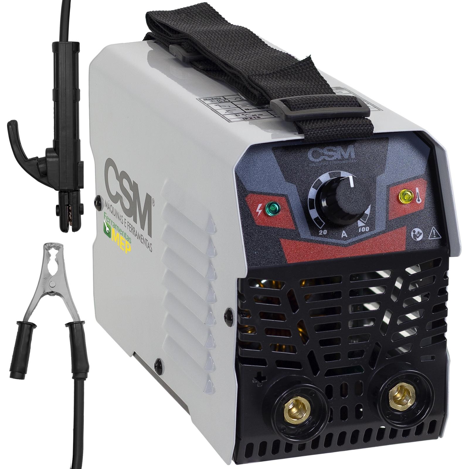 Máquina de Solda Inversora Csm 100amp 220v Mma-100 Csm100 - Ferramentas MEP
