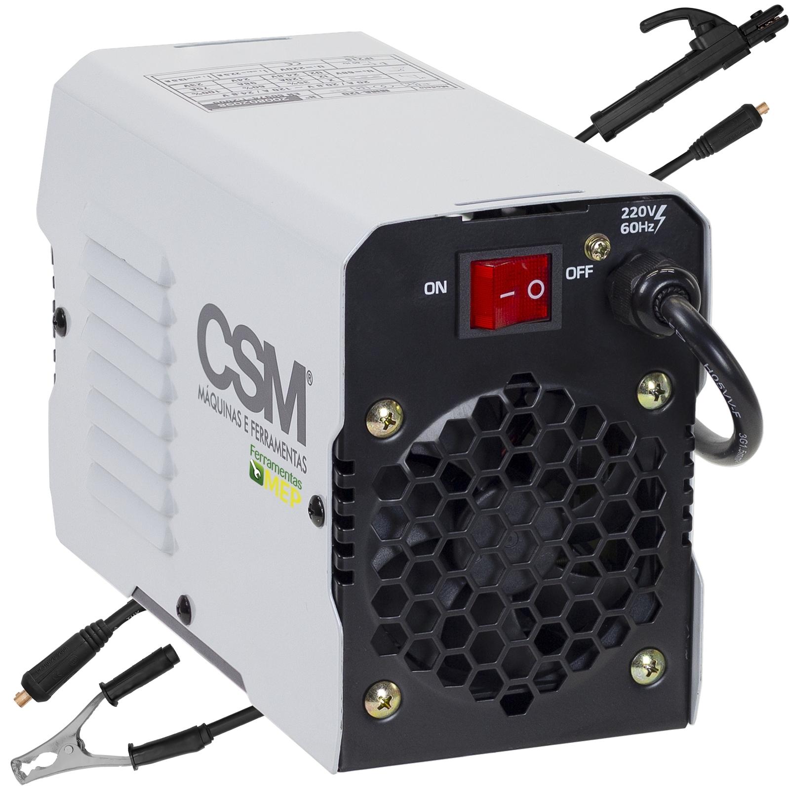 Máquina de Solda Inversora Csm 120amp 220v Mma-120 Csm120 - Ferramentas MEP