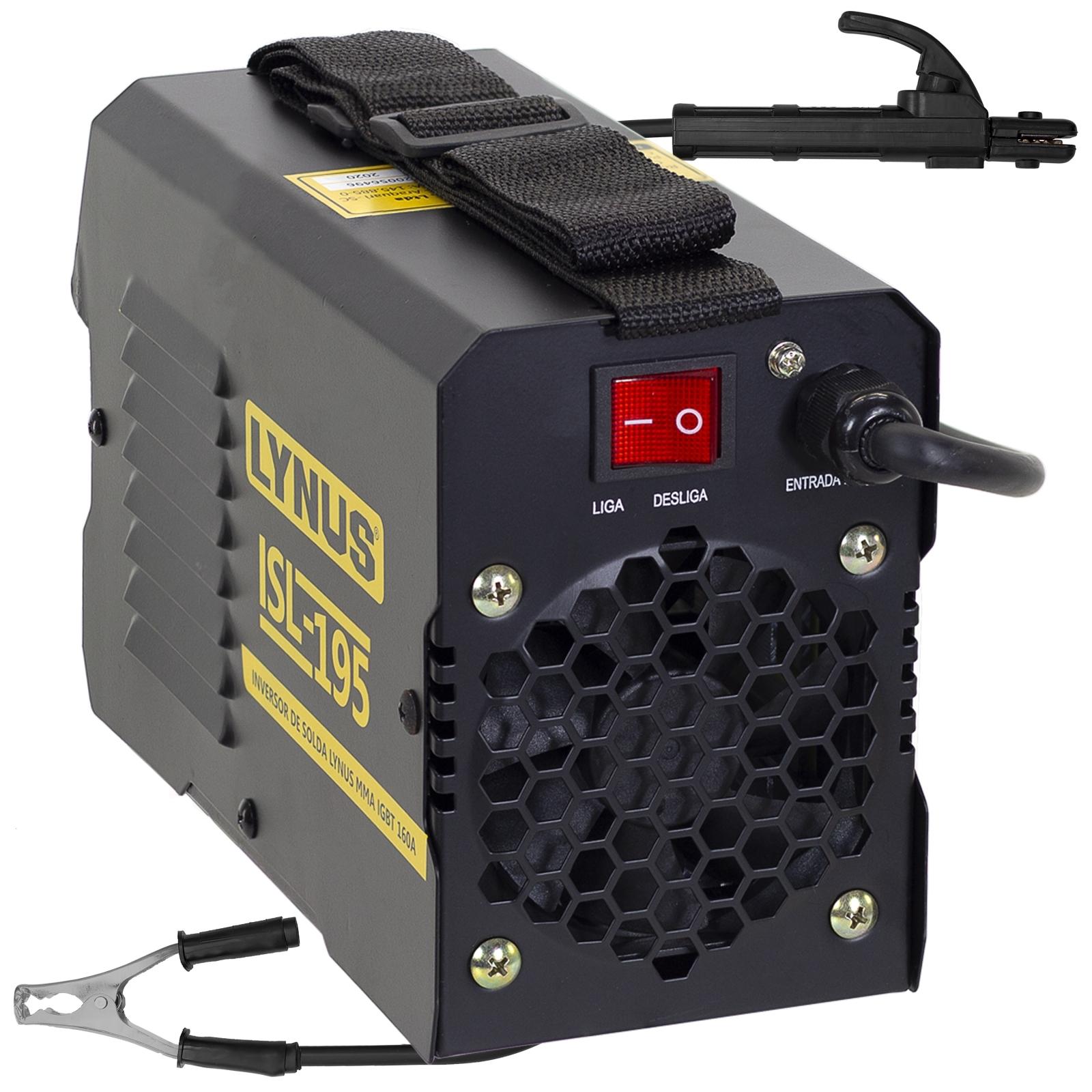 Máquina De Solda Inversora Lynus 160amp 220v Isl-195 Sl6 - Ferramentas MEP