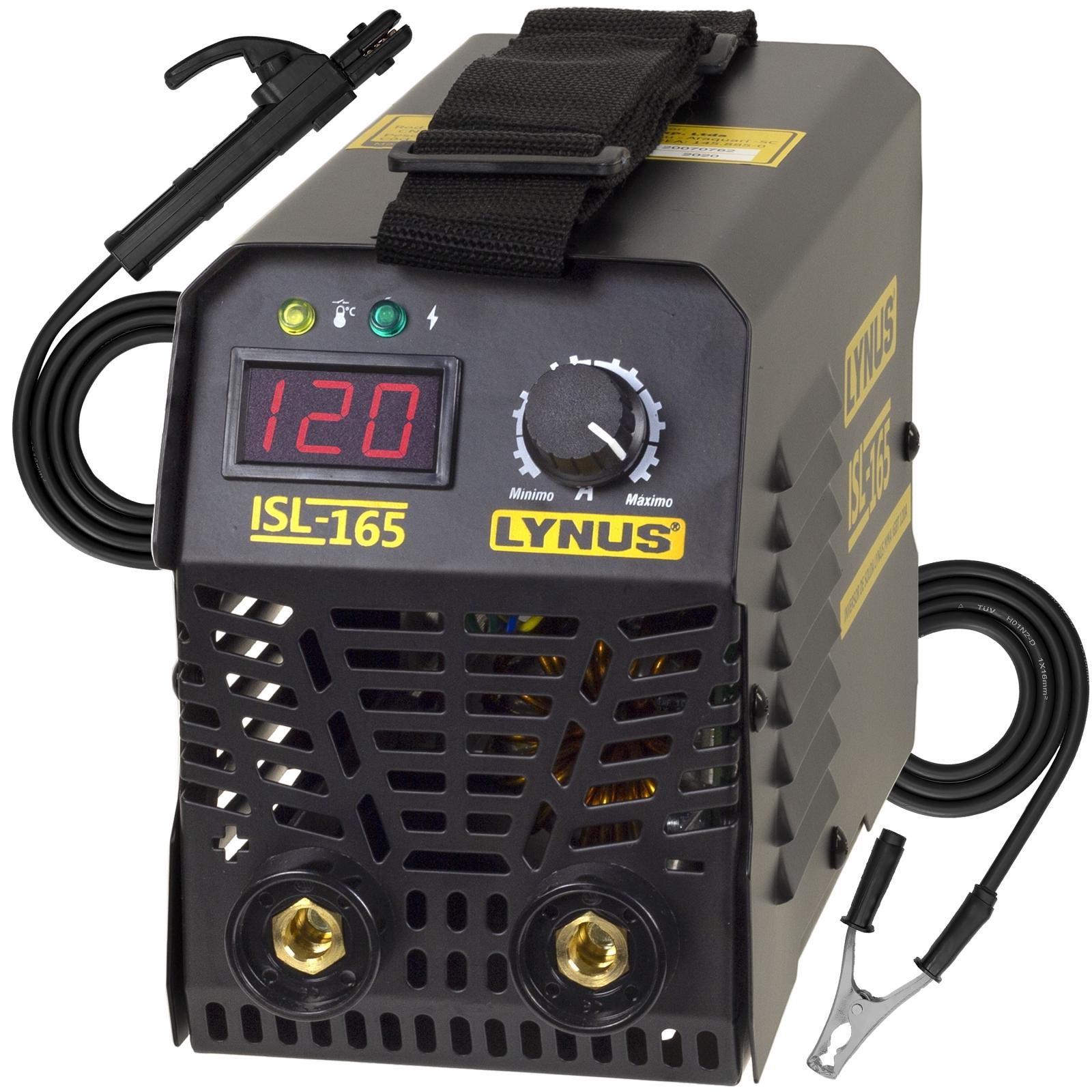Máquina De Solda Inversora Lynus 120amp 220v Isl-165s Sl2 - Ferramentas MEP