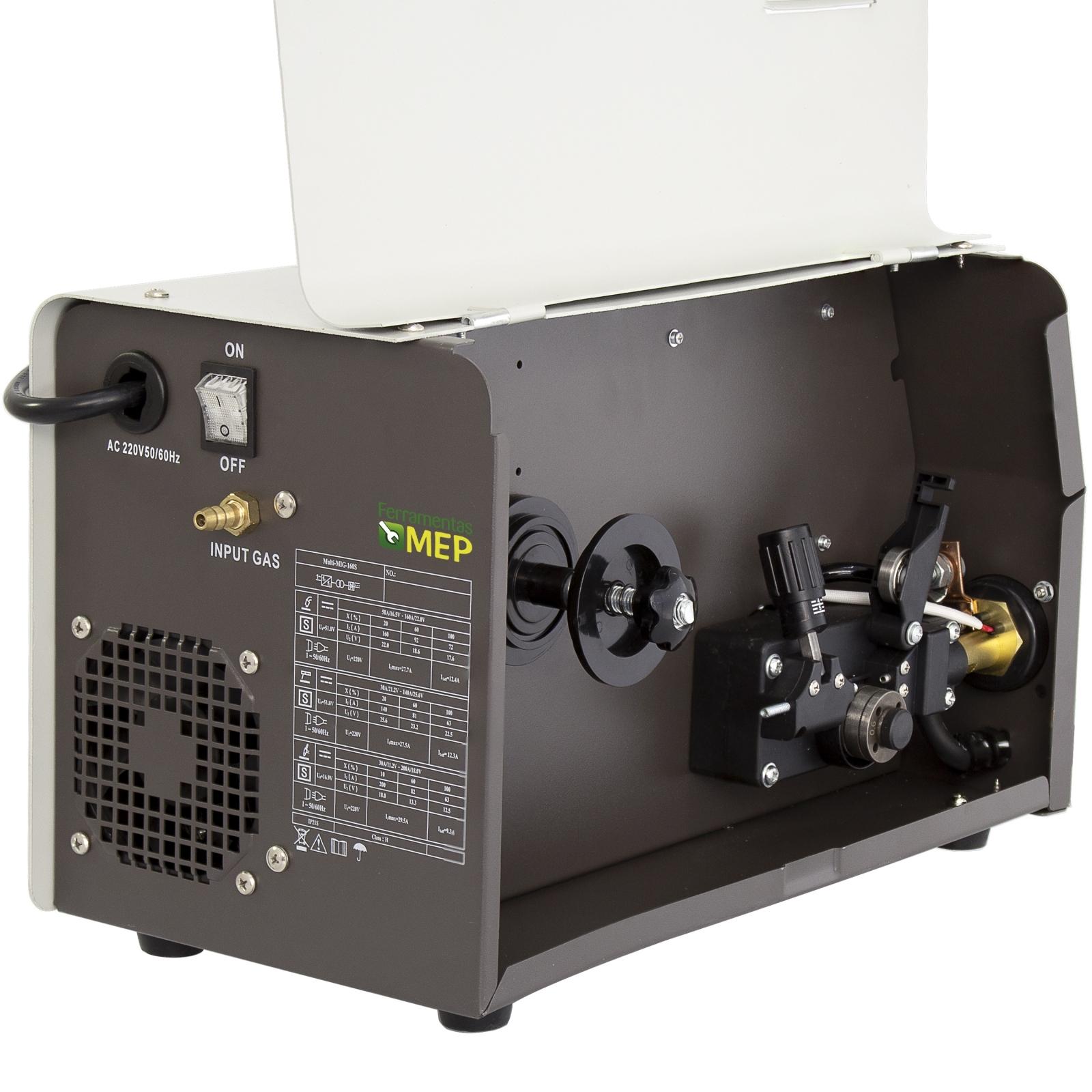 Máquina de Solda Mig Kende 160amp Multiprocesso Multi 160S - Me8 - Ferramentas MEP