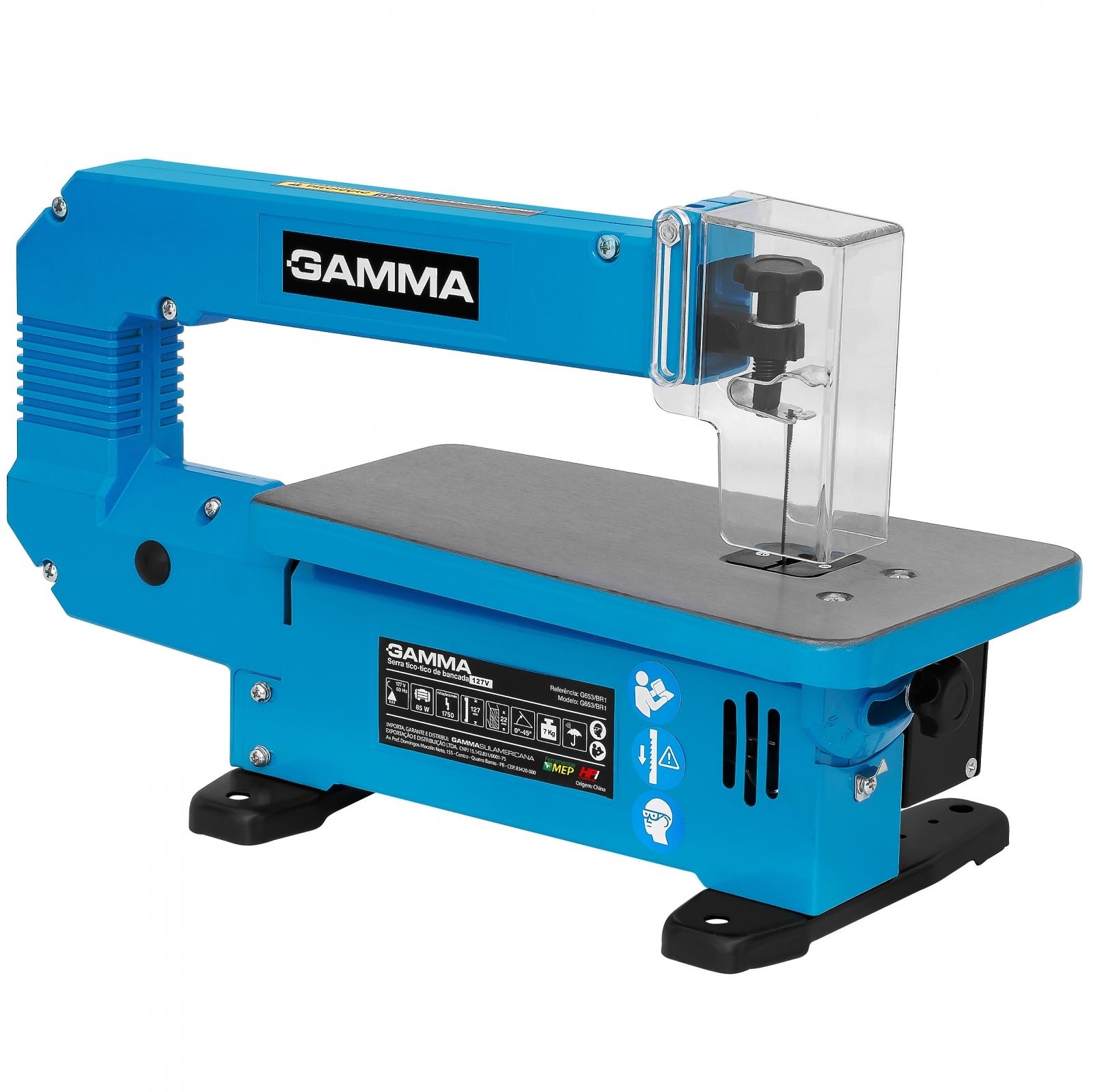 Serra Tico-Tico De Bancada Gamma G653 85w 110v - Ferramentas MEP