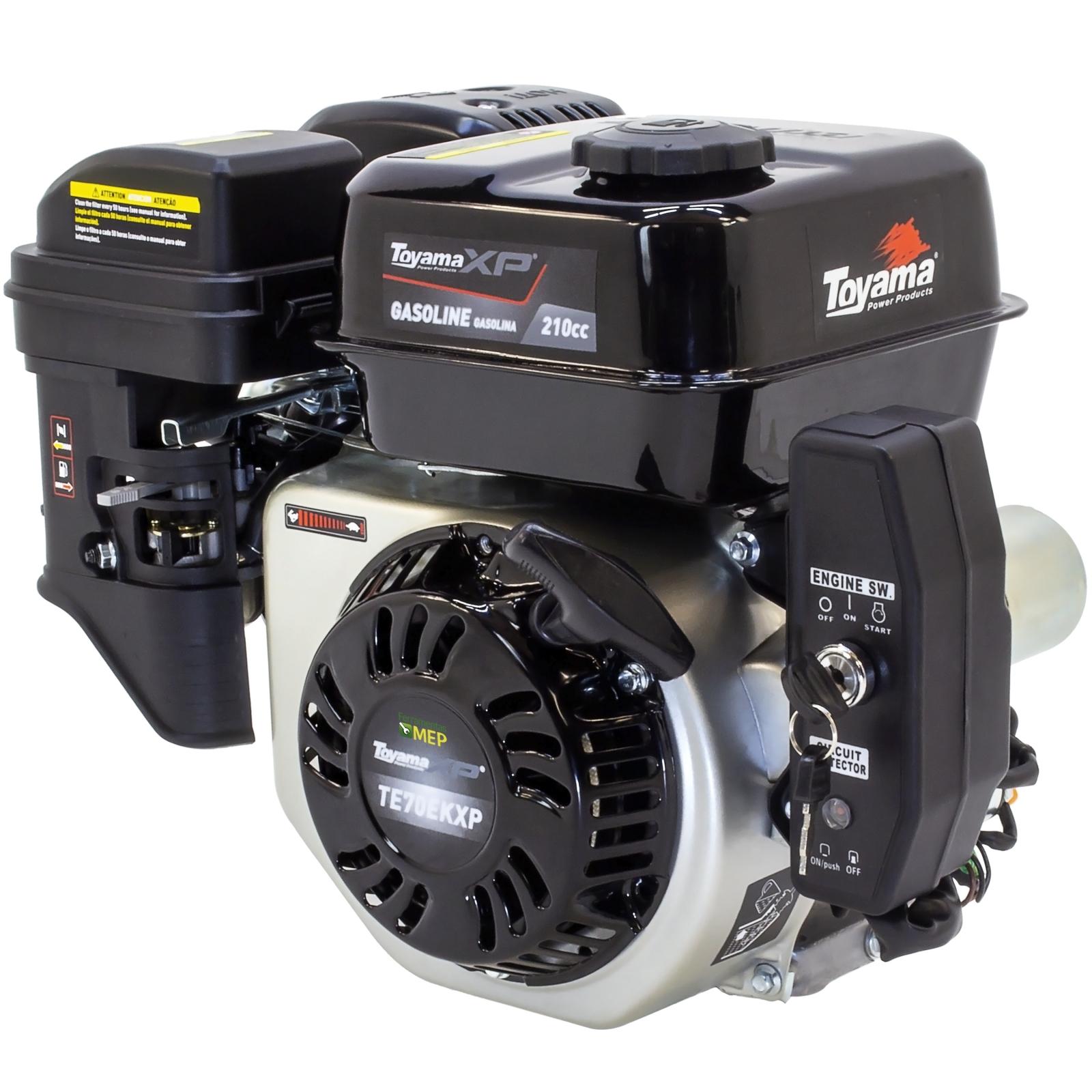Motor Estacionário a Gasolina 7hp Partida Elétrica Toyama TE70EKXP T7p - Ferramentas MEP